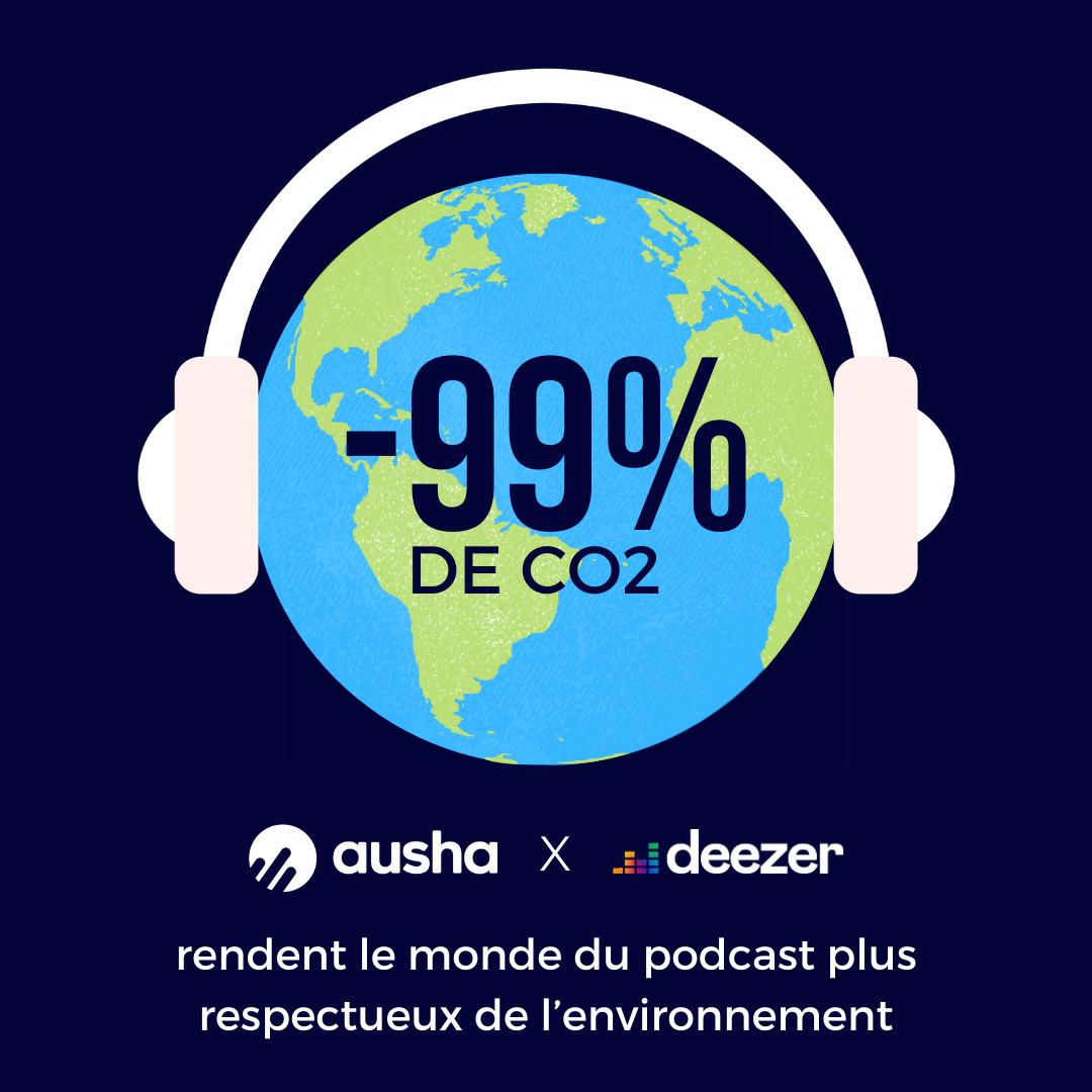 """Ausha et Deezer initient le """"Green podcast"""""""