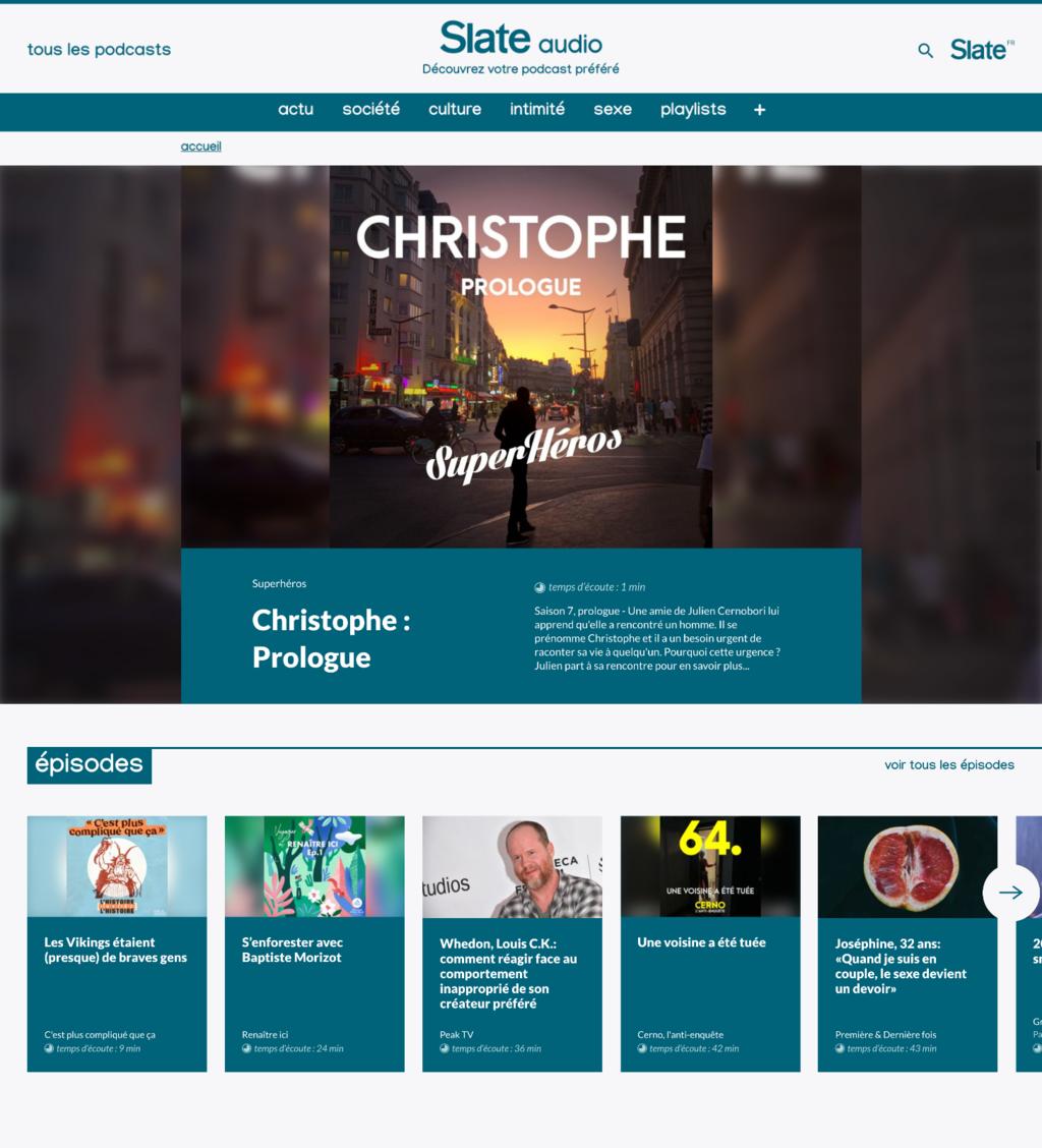 Slate.fr lance Slate Audio, sa plateforme de recommandation de podcasts