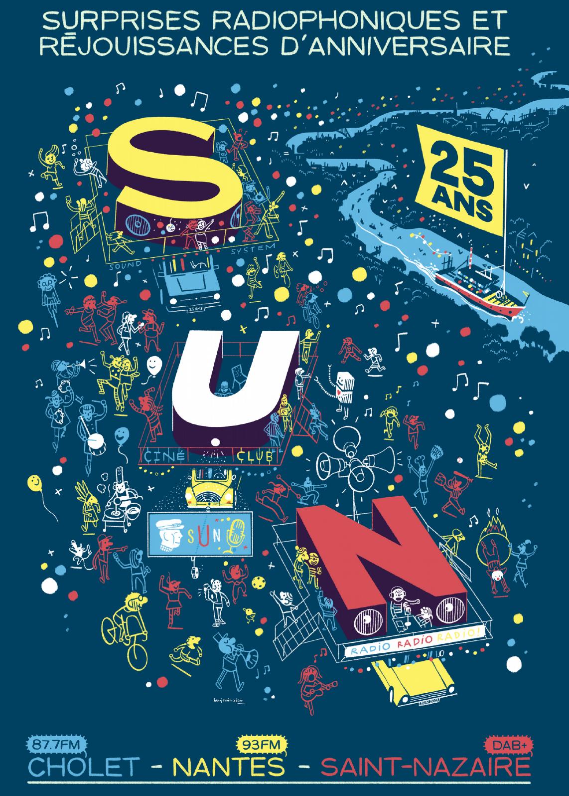 Pour ses 25 ans, SUN lance le VRB Tour