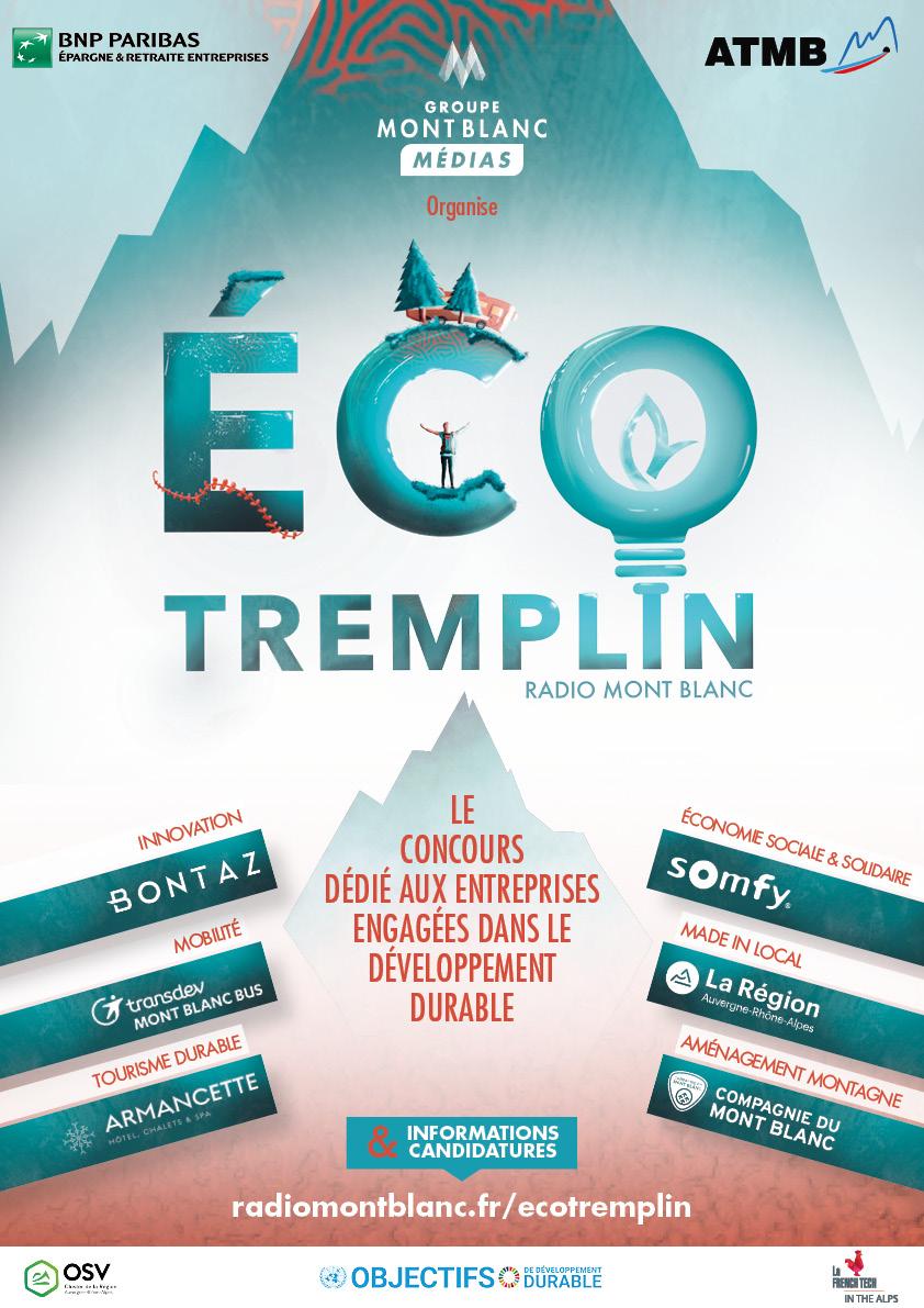 Lancement de l'Éco-Tremplin Radio Mont Blanc