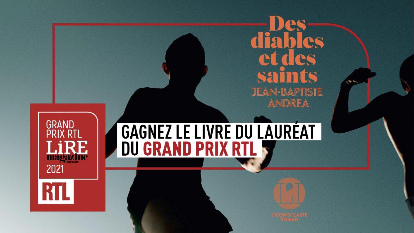 RTL remet son  Grand Prix RTL/LIRE Magazine Littéraire