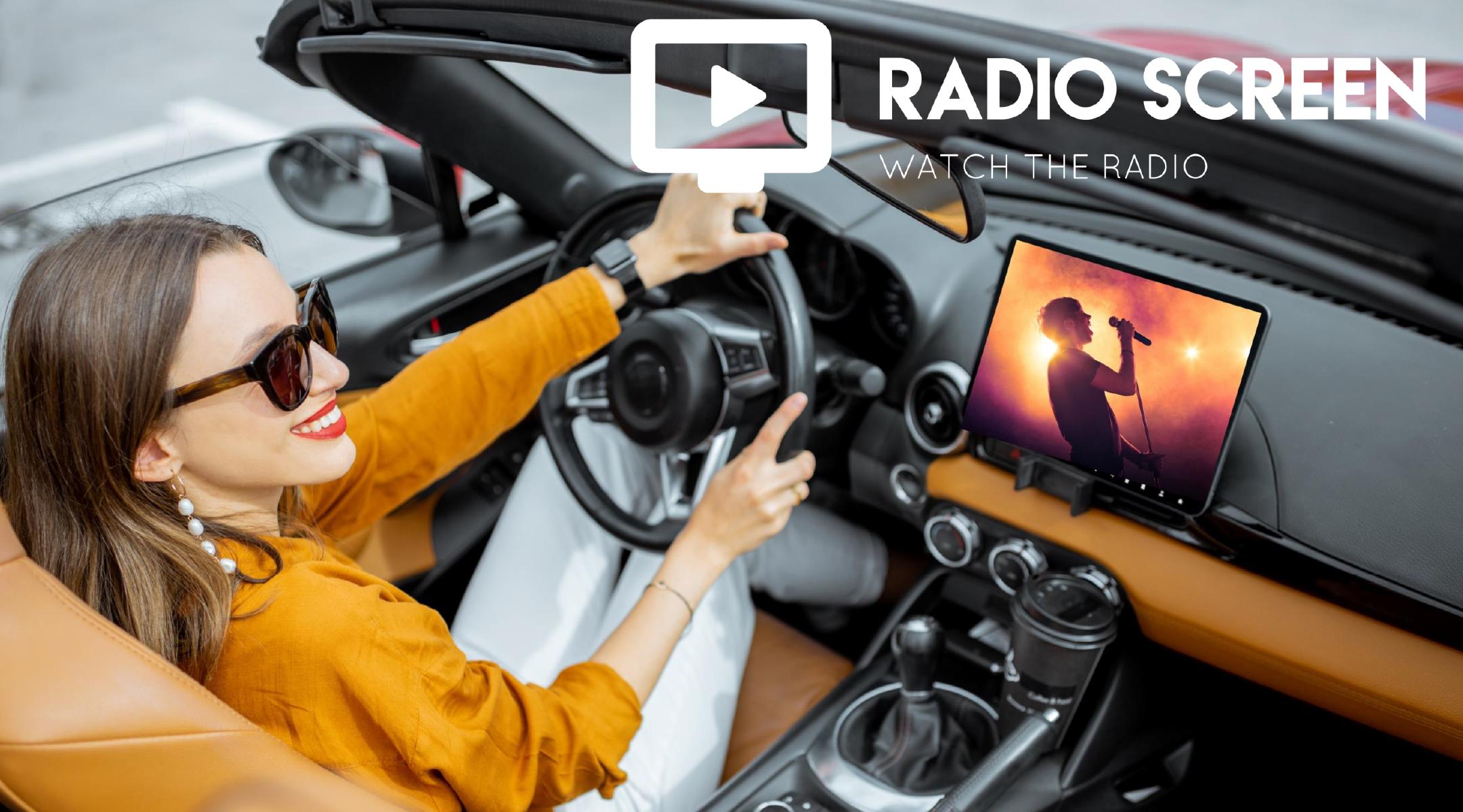 Radio Screen met en image les radios