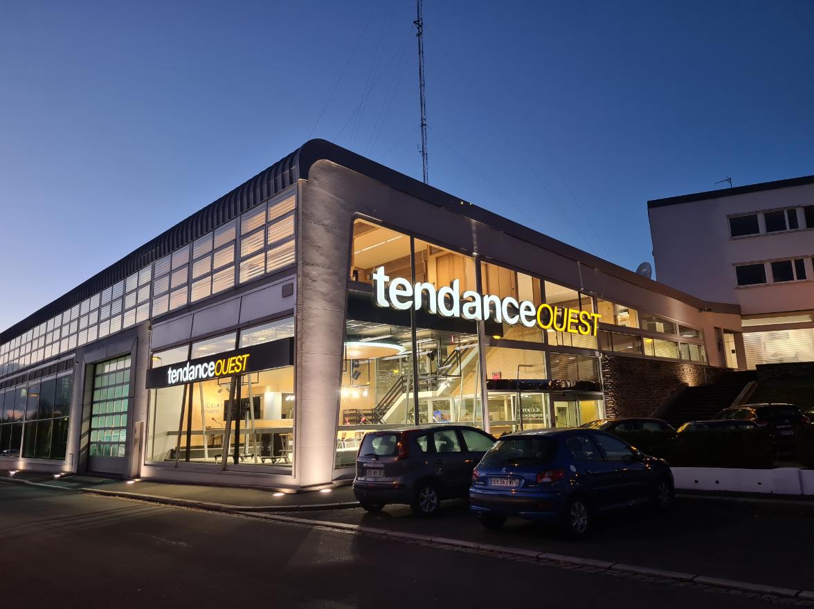 Studios de Tendance Ouest à Saint-Lô. © Tendance Ouest.