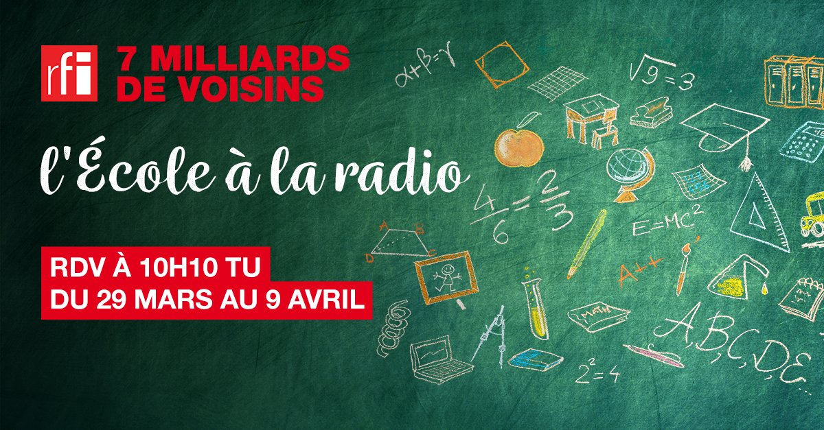 """""""L'École à la radio"""" reprend sur RFI"""