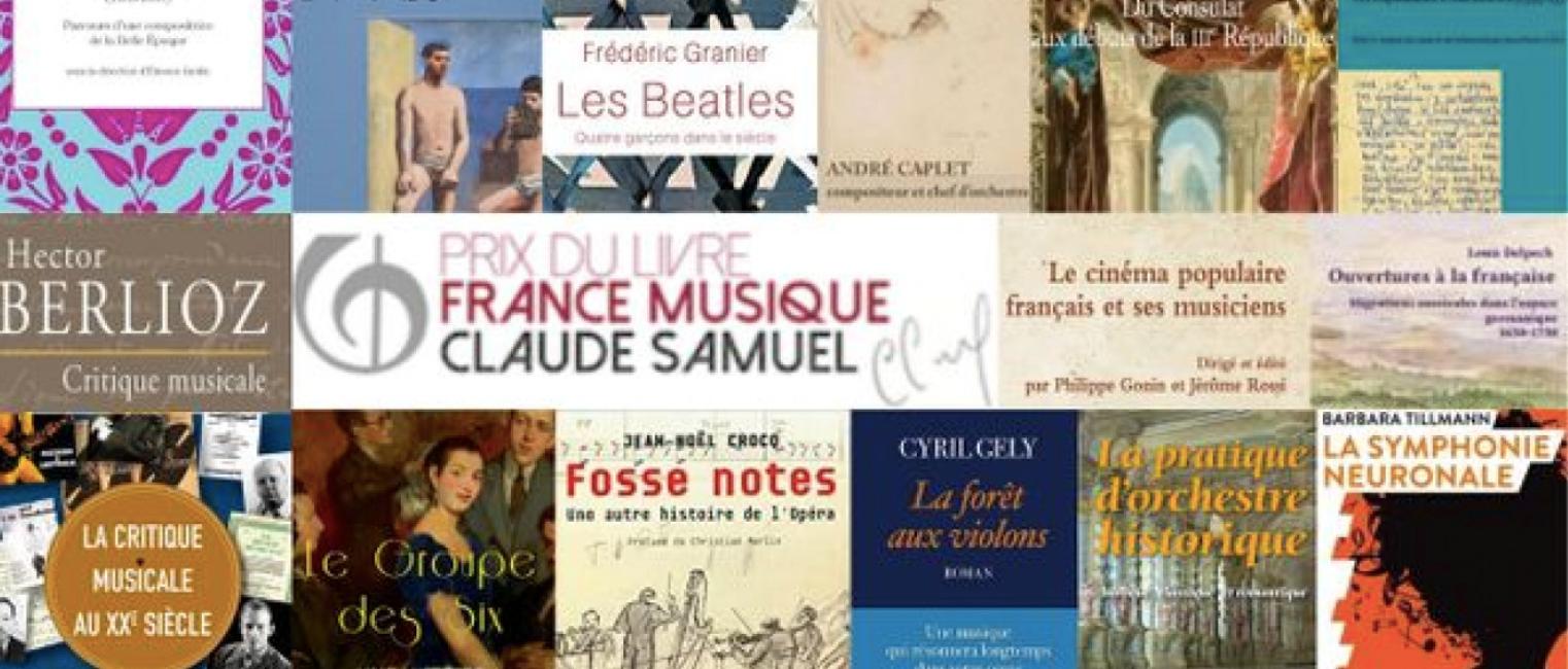 Quinze nominés au Prix du Livre France Musique