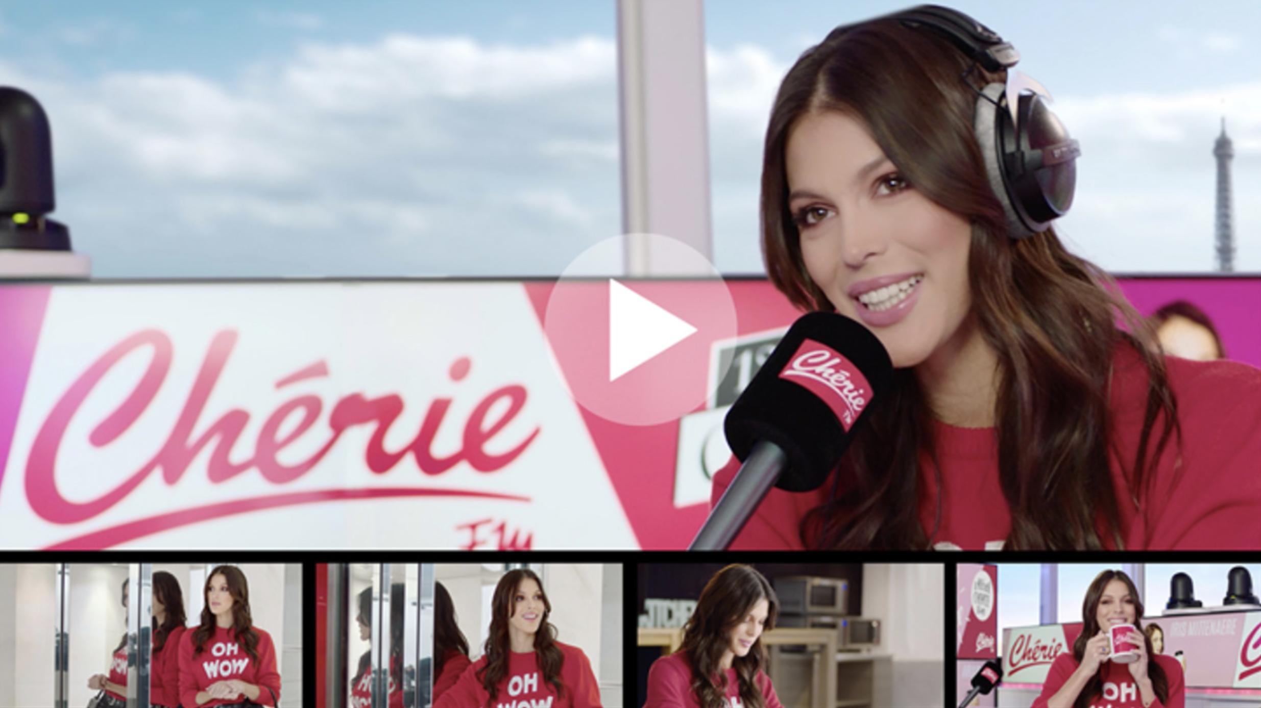 """Chérie FM : une campagne pour le """"Chérie Lunch"""" avec Iris Mittenaere"""