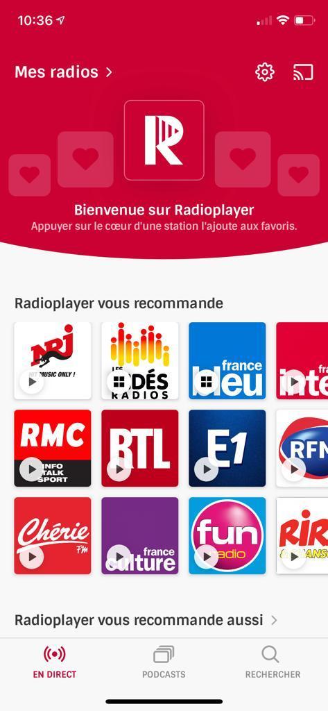 RadioPlayer : une offre qui réinvente le poste de radio