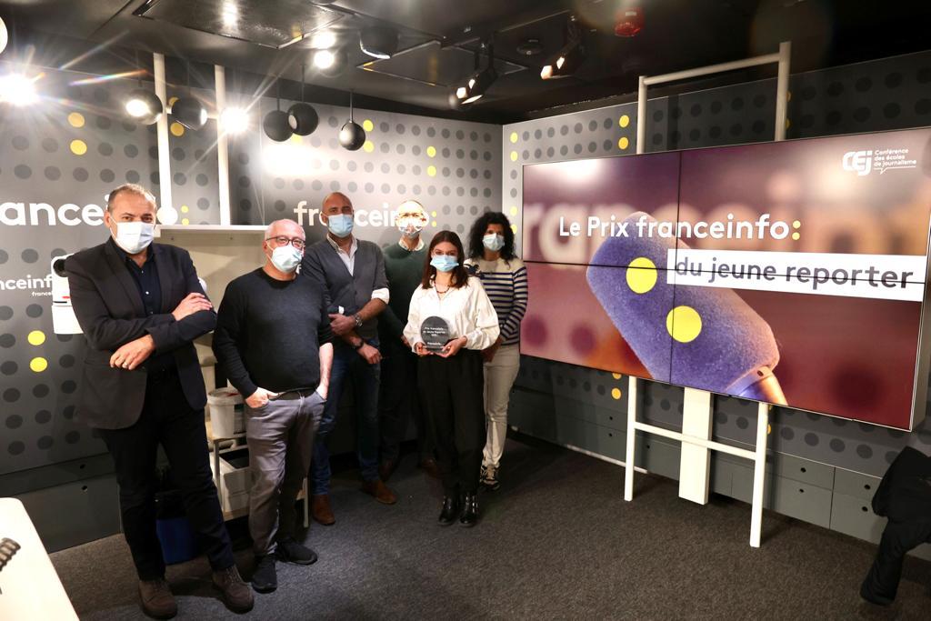 De gauche à droite : Jean-Philippe Baille, Frédéric Carbonne, Franck Cognard, Christophe Deleu, Philippine Oisel et Estelle Cognacq