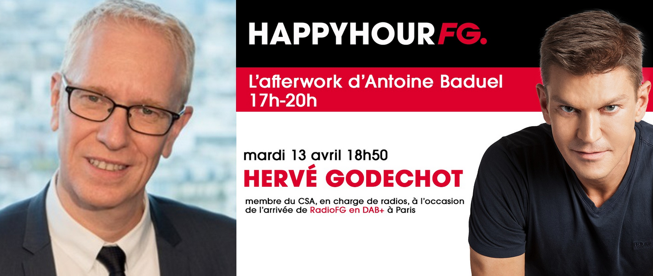 DAB+ : Radio FG reçoit Hervé Godechot du CSA