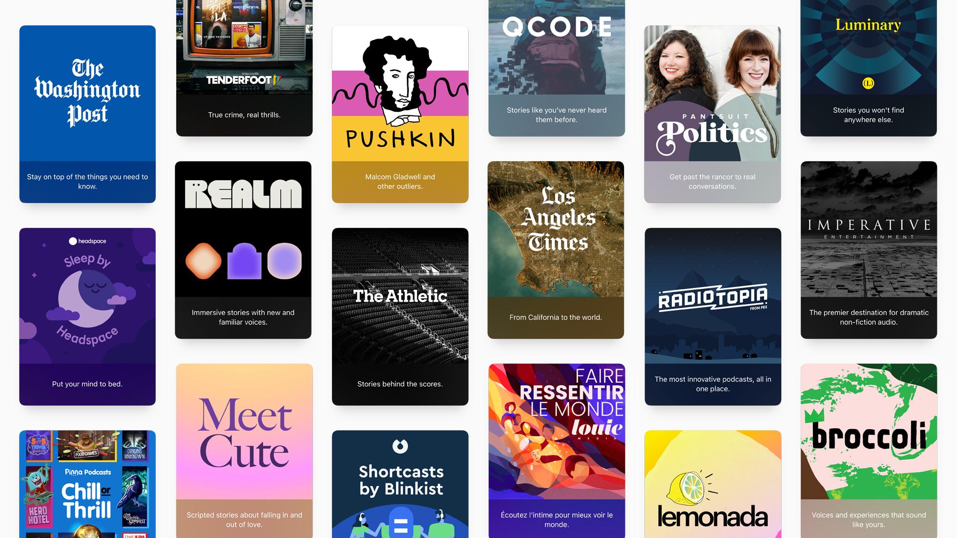 Apple ouvre un nouveau chapitre dans l'histoire des podcasts
