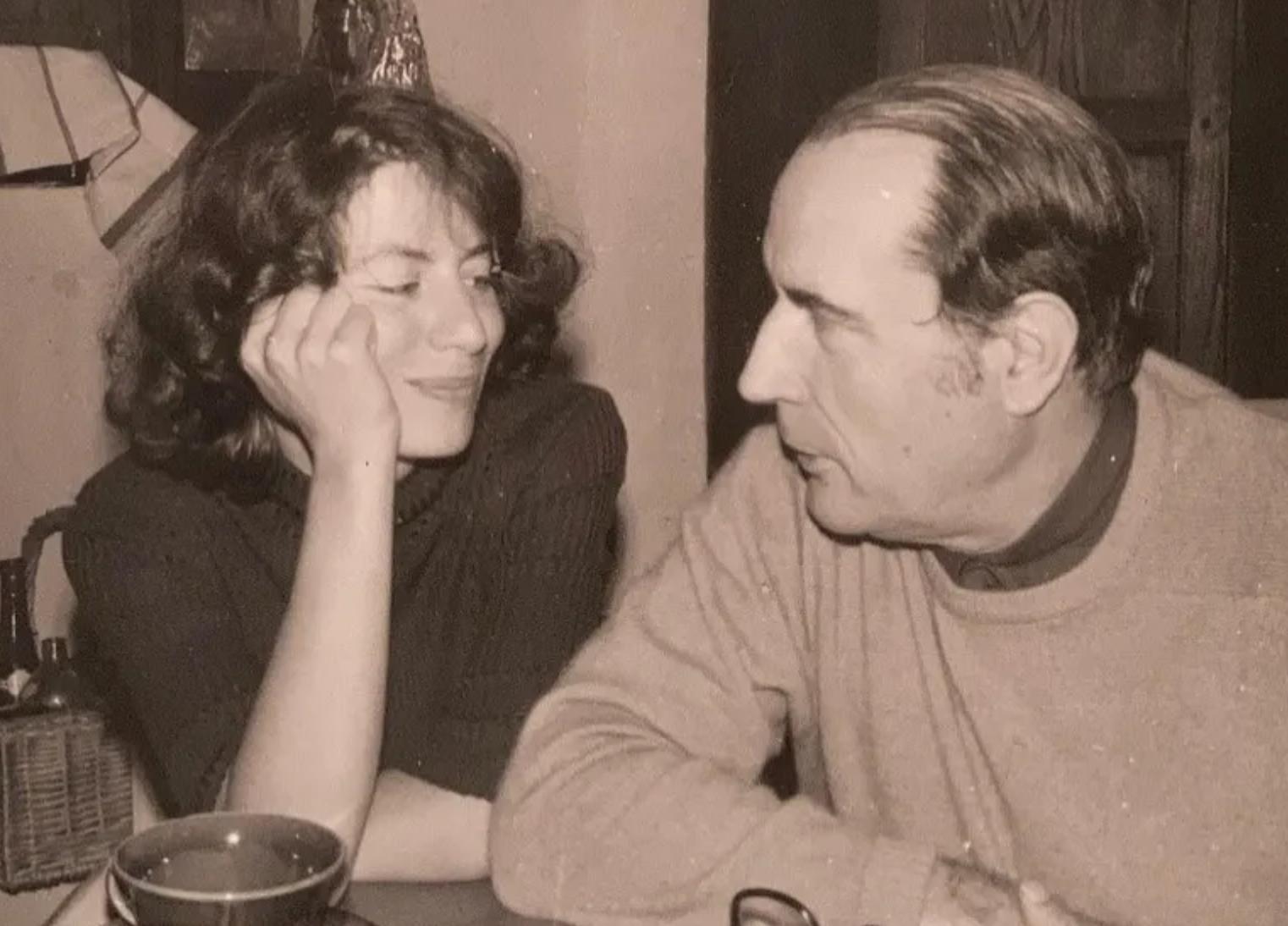 Anne Pingeot et François Miterrand © Photo DR