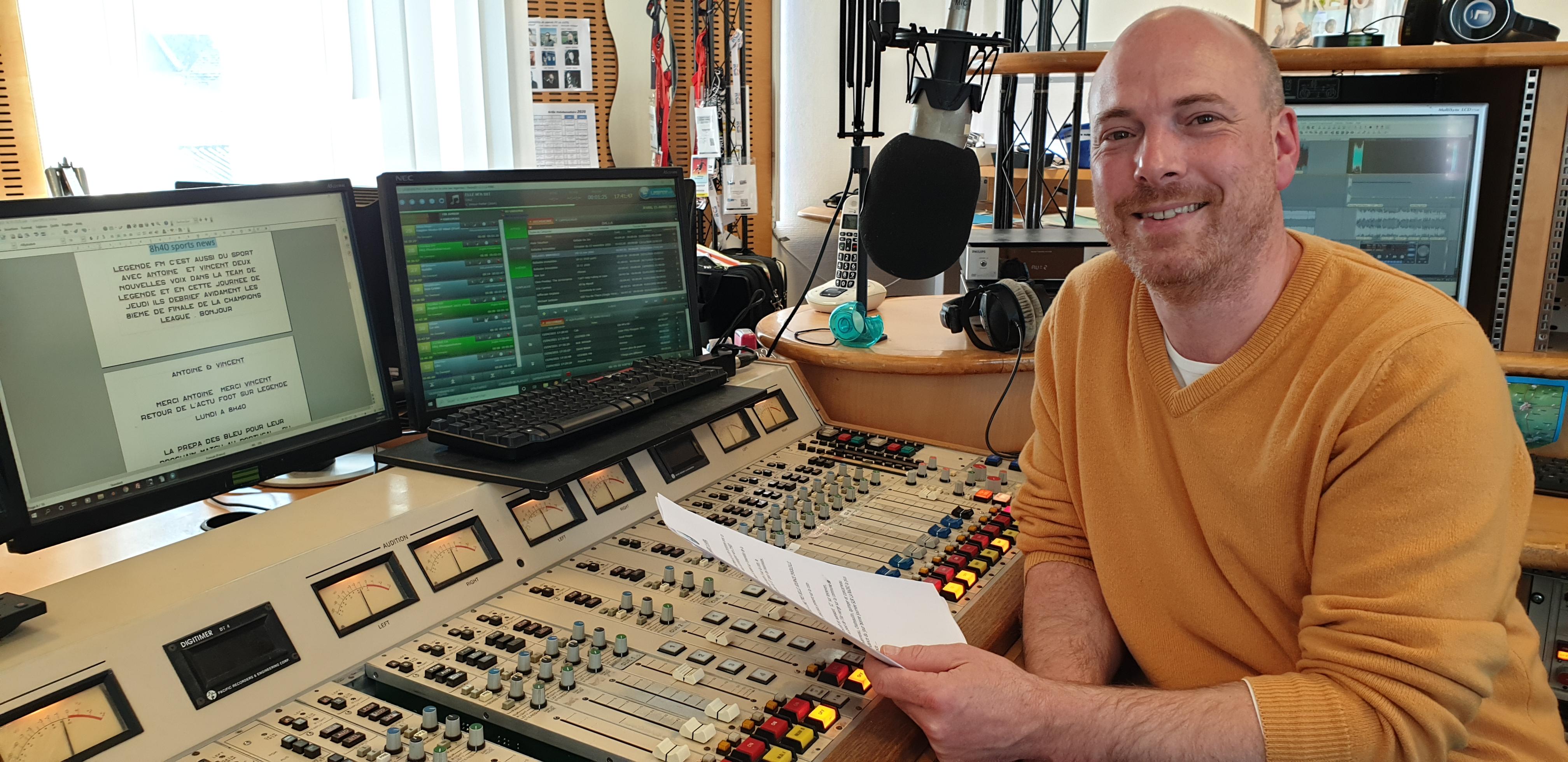 Benoît Quiviger de Légende FM