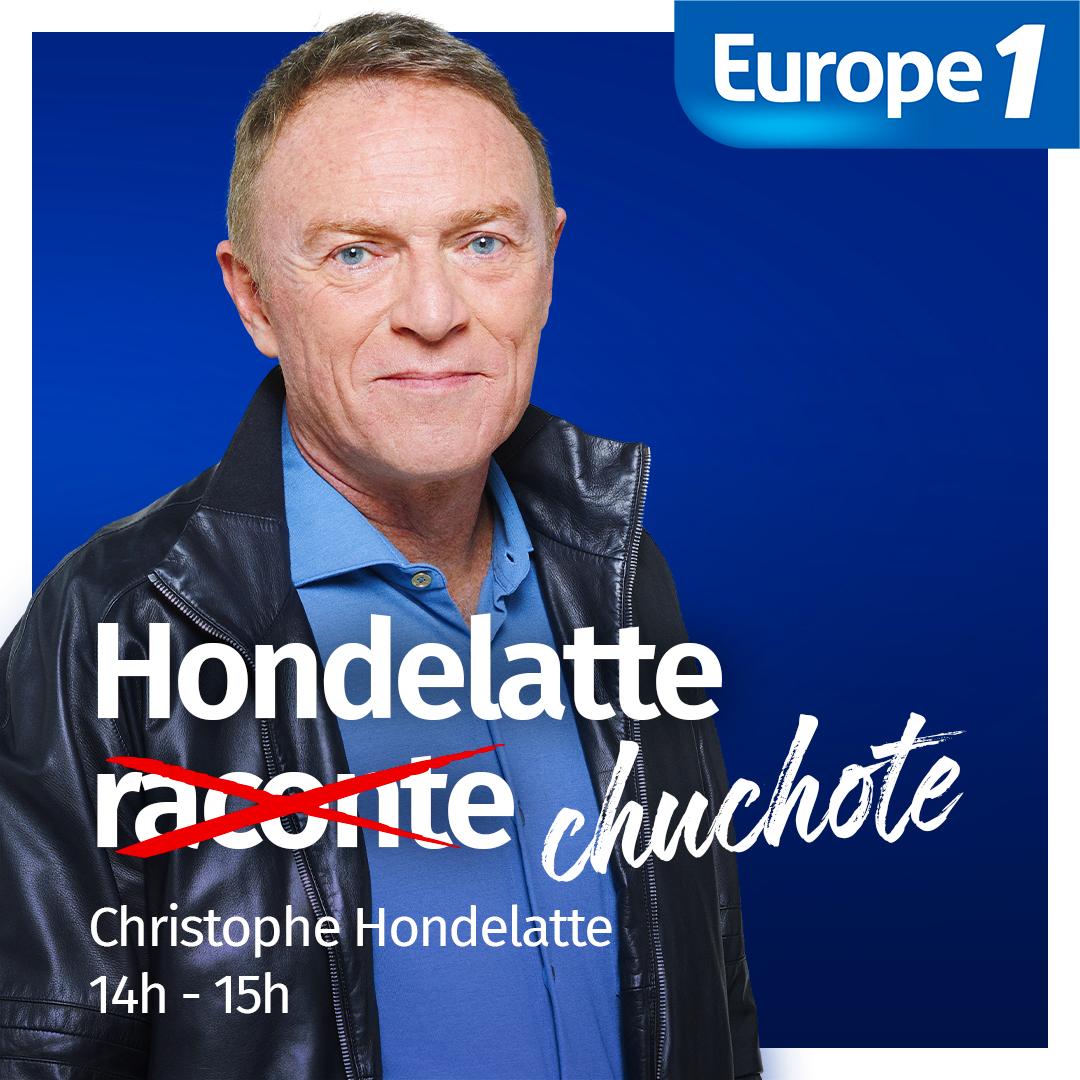 Christophe Hondelatte chuchote sur Europe 1