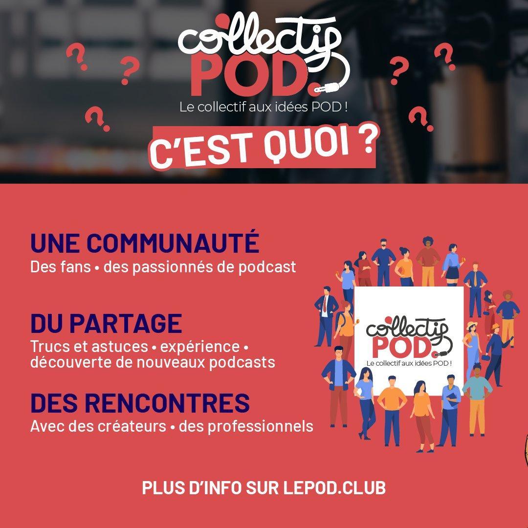 Le magazine LePOD. lance le Collectif POD.