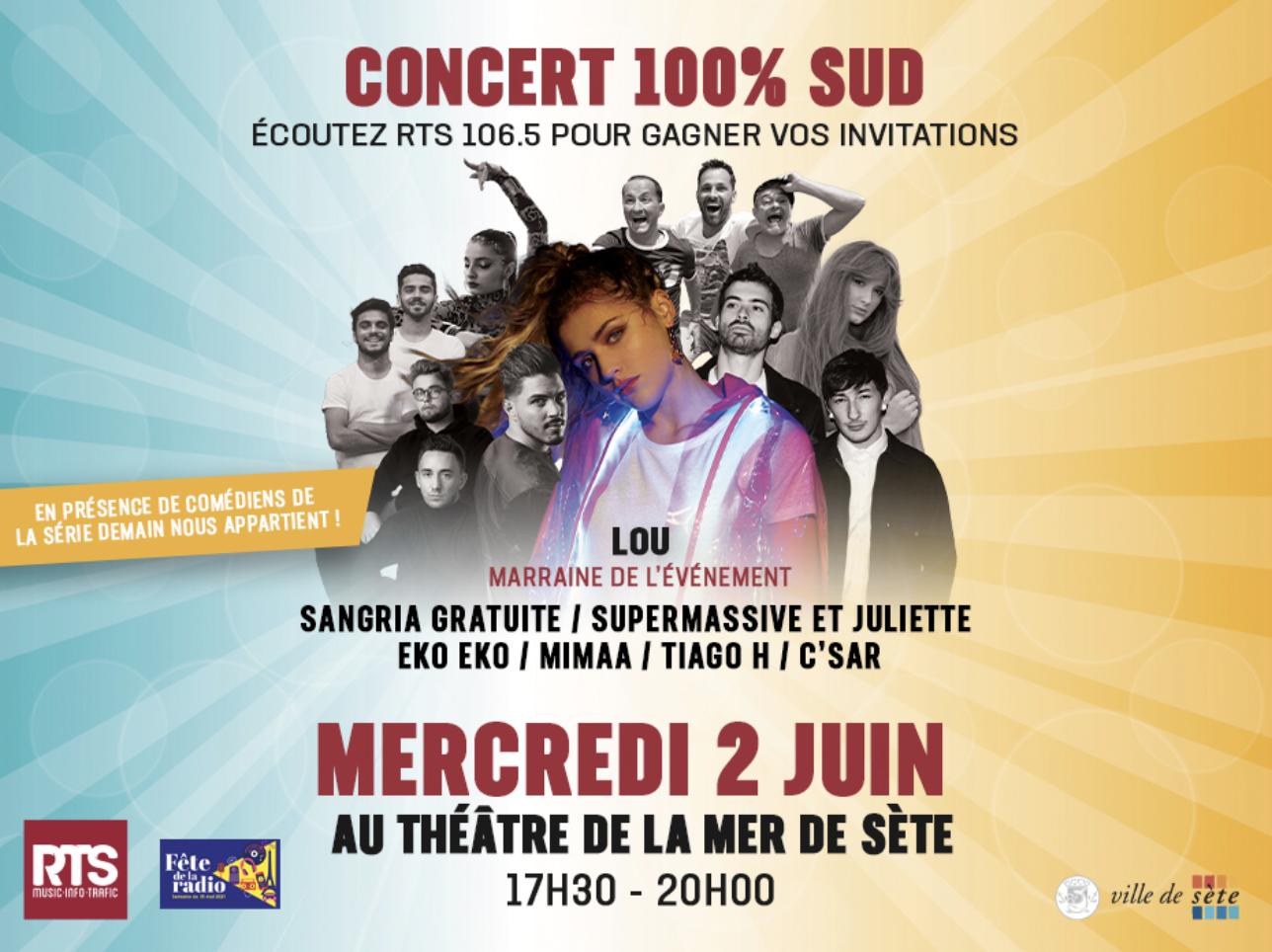 RTS : un concert 100% artistes du Sud