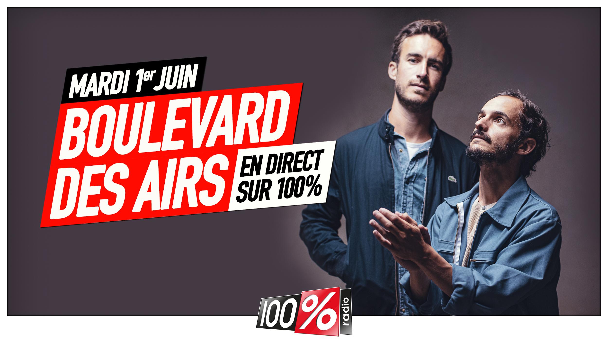 Le groupe Boulevard Des Airs fête ses 10 ans sur 100%