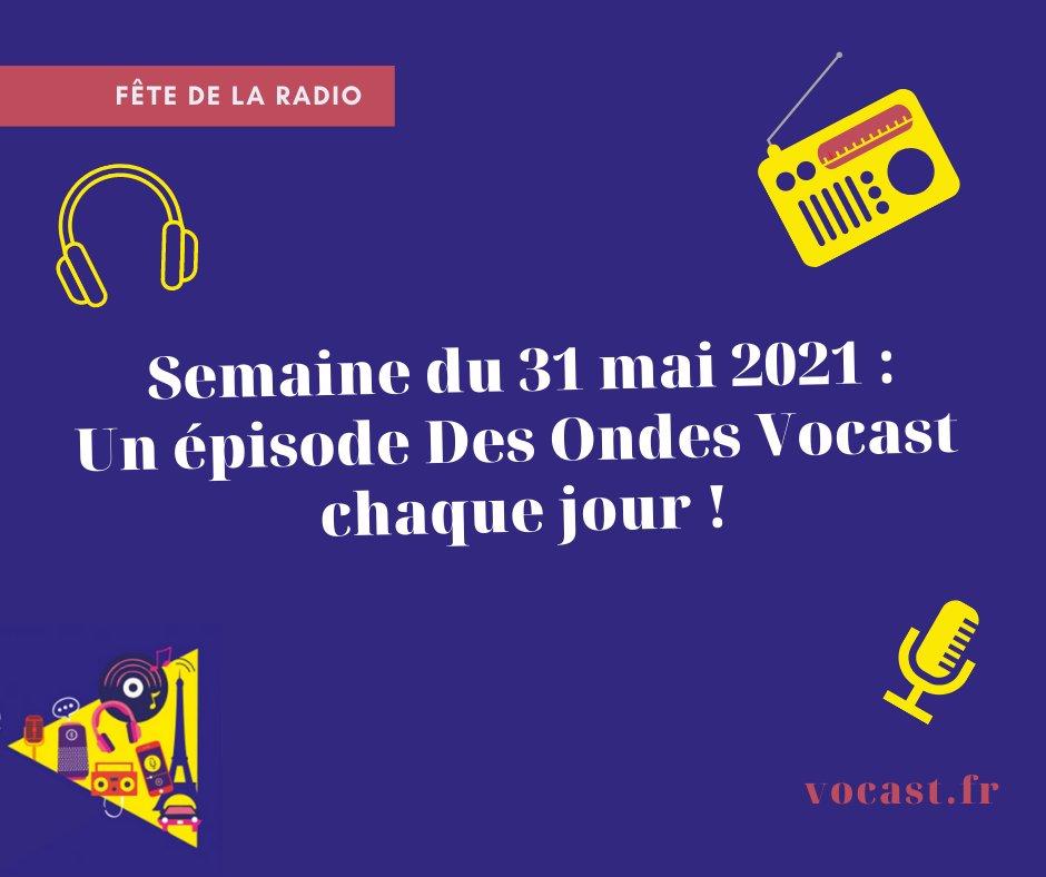 """Le podcast """"Des Ondes Vocast"""" fête la radio"""