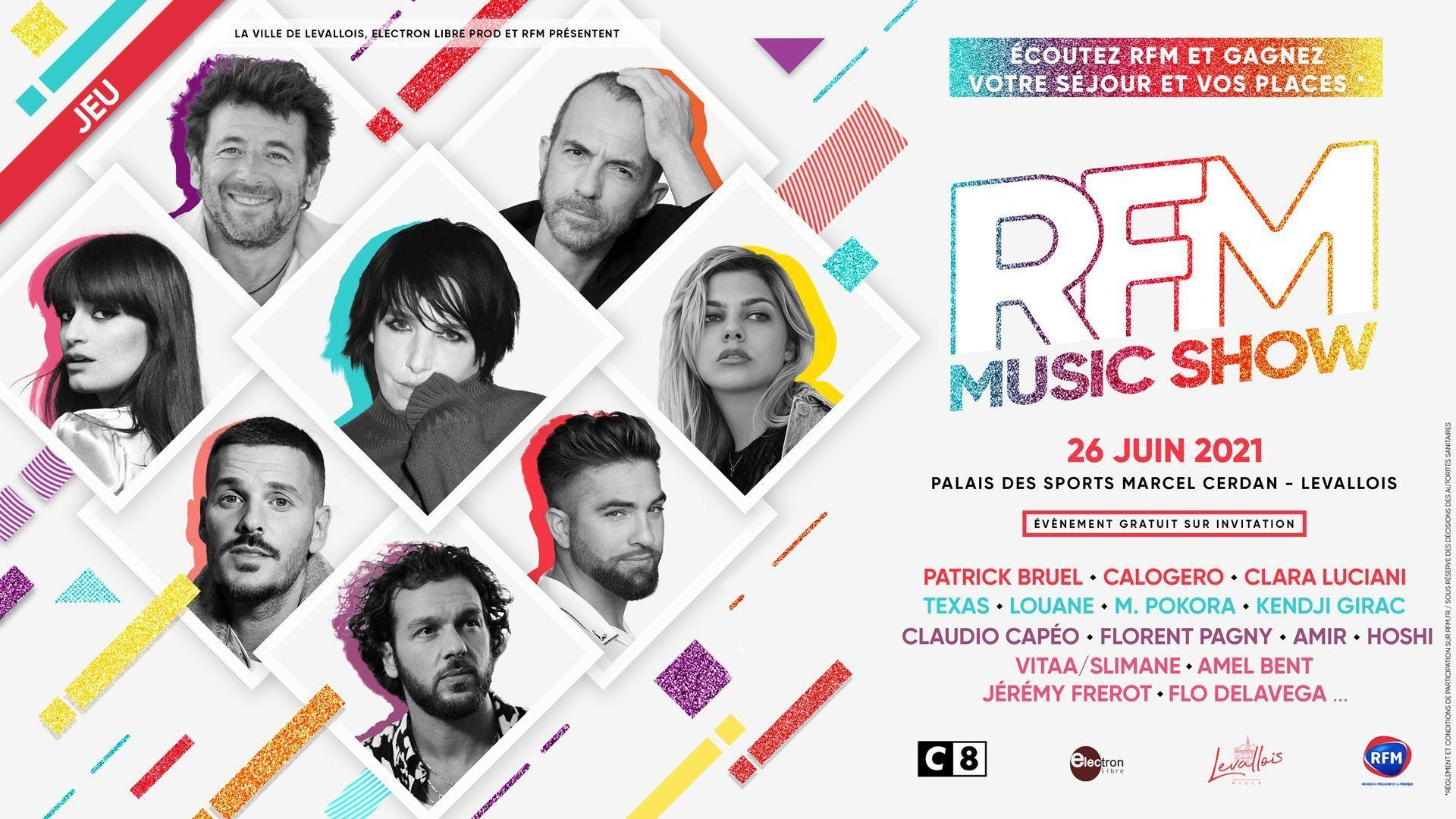 """RFM prépare son """"RFM Music Show"""" pour le 26 juin"""