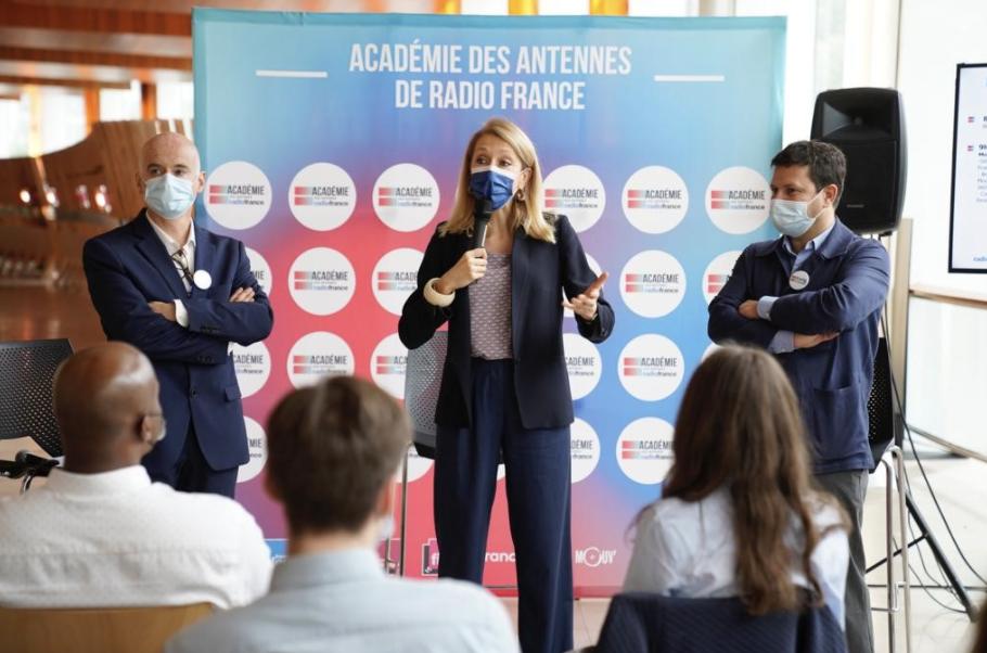 L'Académie d'été constitue une étape importante dans la démarche de Radio France en faveur de la diversité sous toutes ses formes.