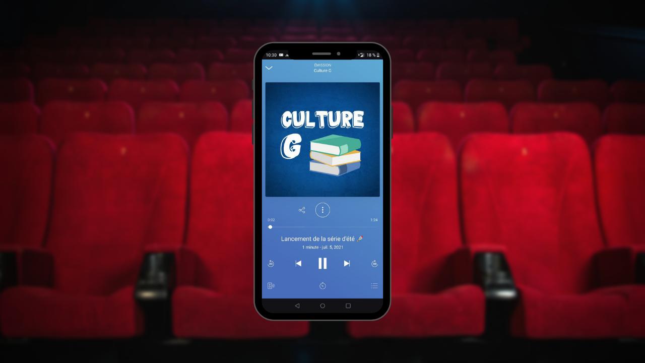 """Le cinéma à l'honneur cet été dans le podcast """"Culture G"""""""