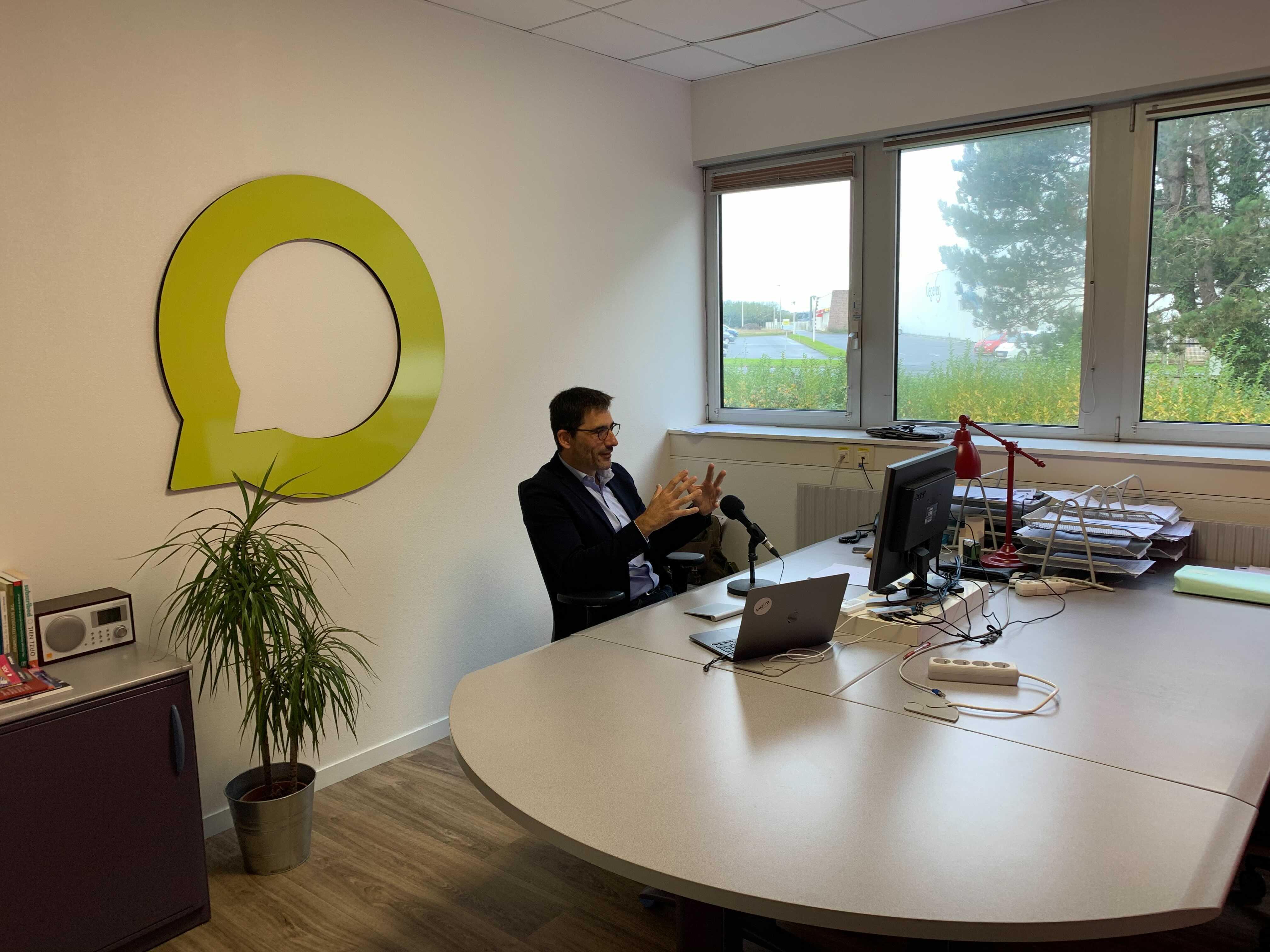 Laurent Hué, directeur exécutif du groupe. © Saooti.
