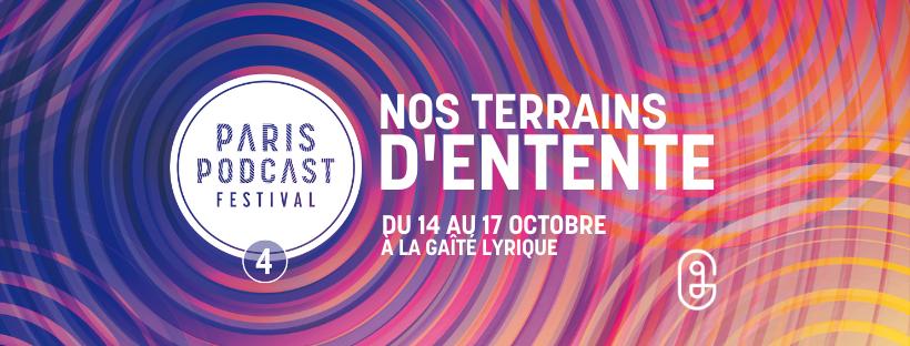 Une nouvelle édition du Paris Podcast Festival