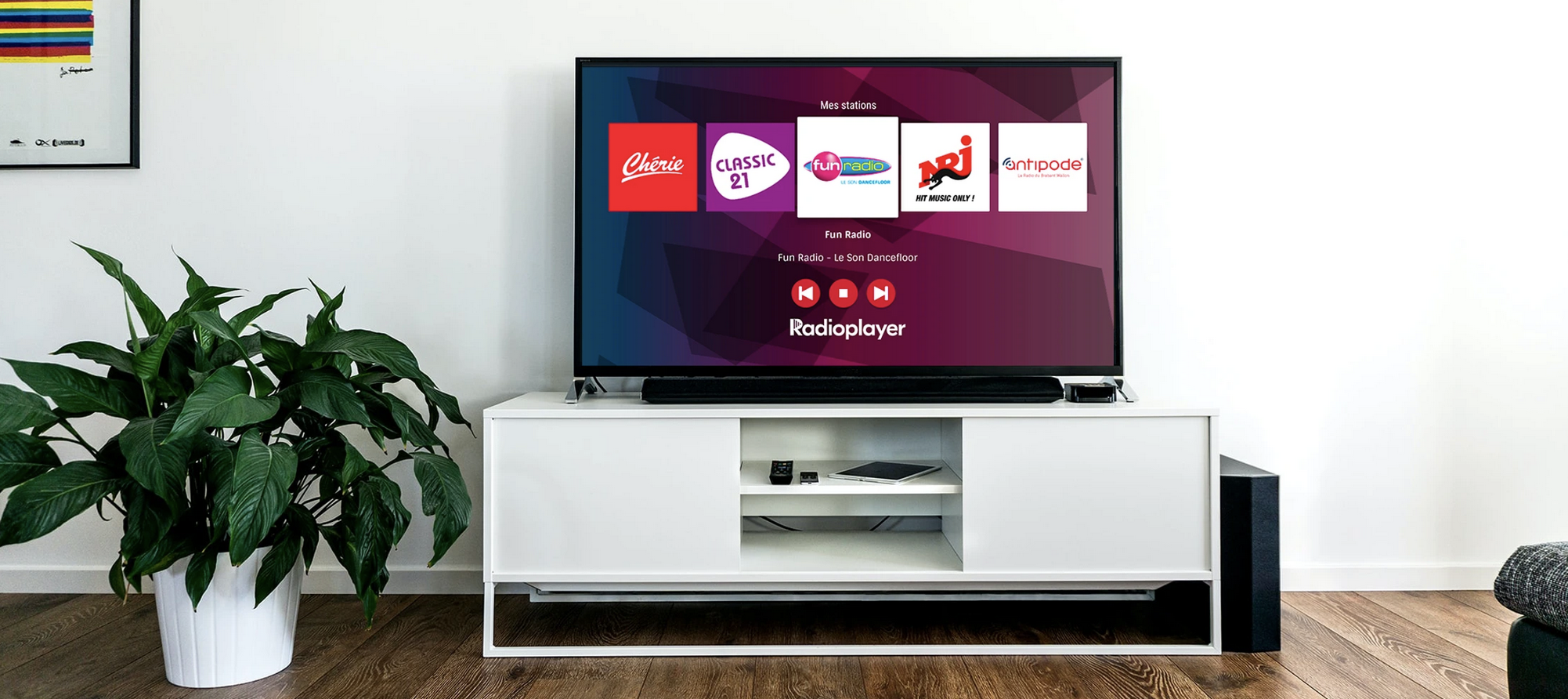 Radioplayer.be disponible sur Android TV