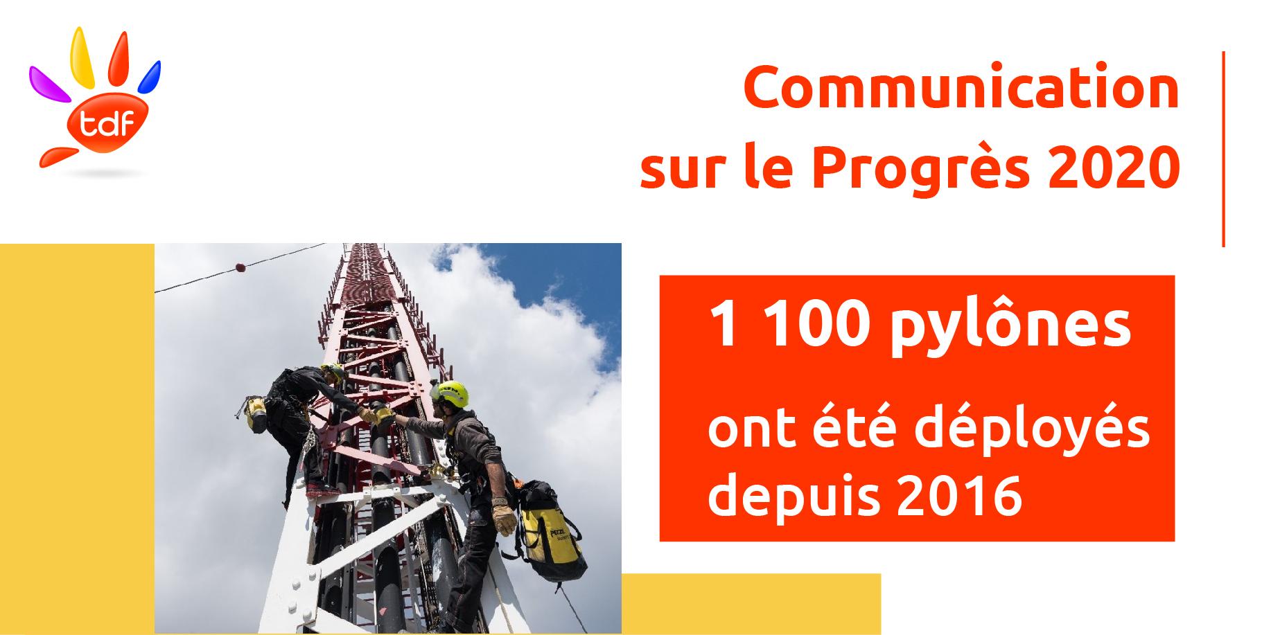 En 2020, TDF a poursuivi ses activités et son engagement