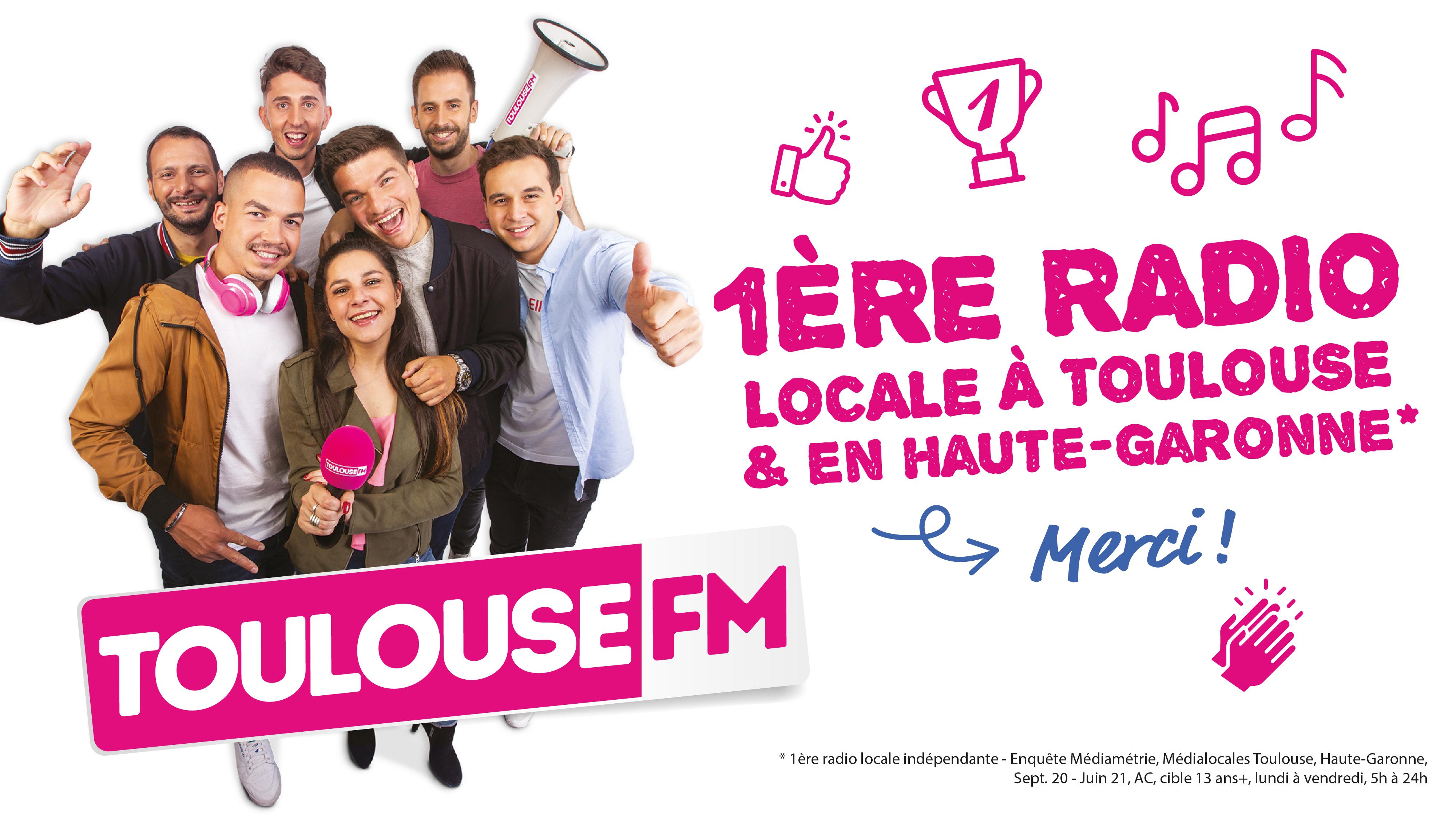 Toulouse FM : 1ère radio locale à Toulouse et en Haute-Garonne