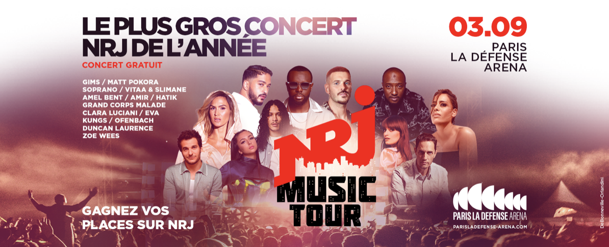 Le NRJ Music Tour fait étape à Paris