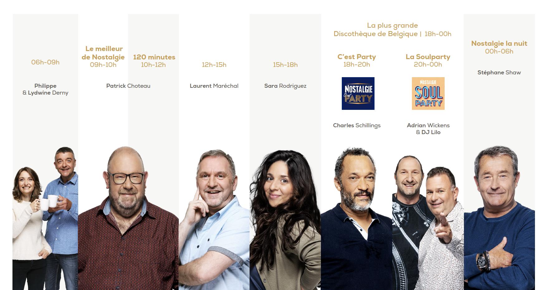 """Belgique : """"quelques aménagements"""" pour Nostalgie"""