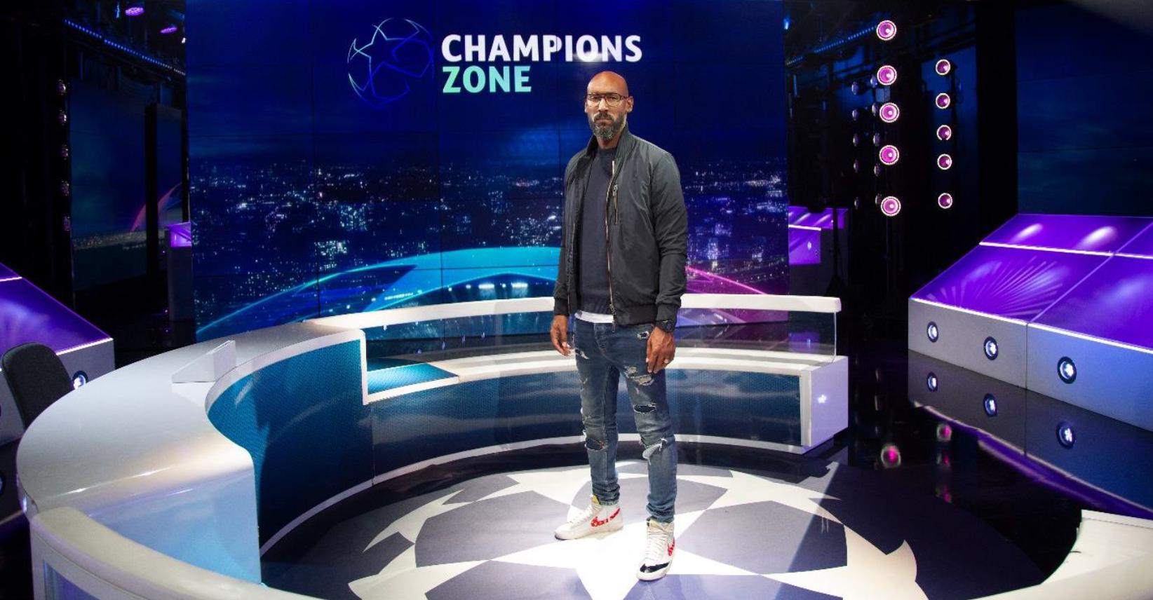 """Nicolas Anelka rejoint l'équipe de l'émission """"Champions Zone"""" dès le 14 septembre © Franck Nataf"""