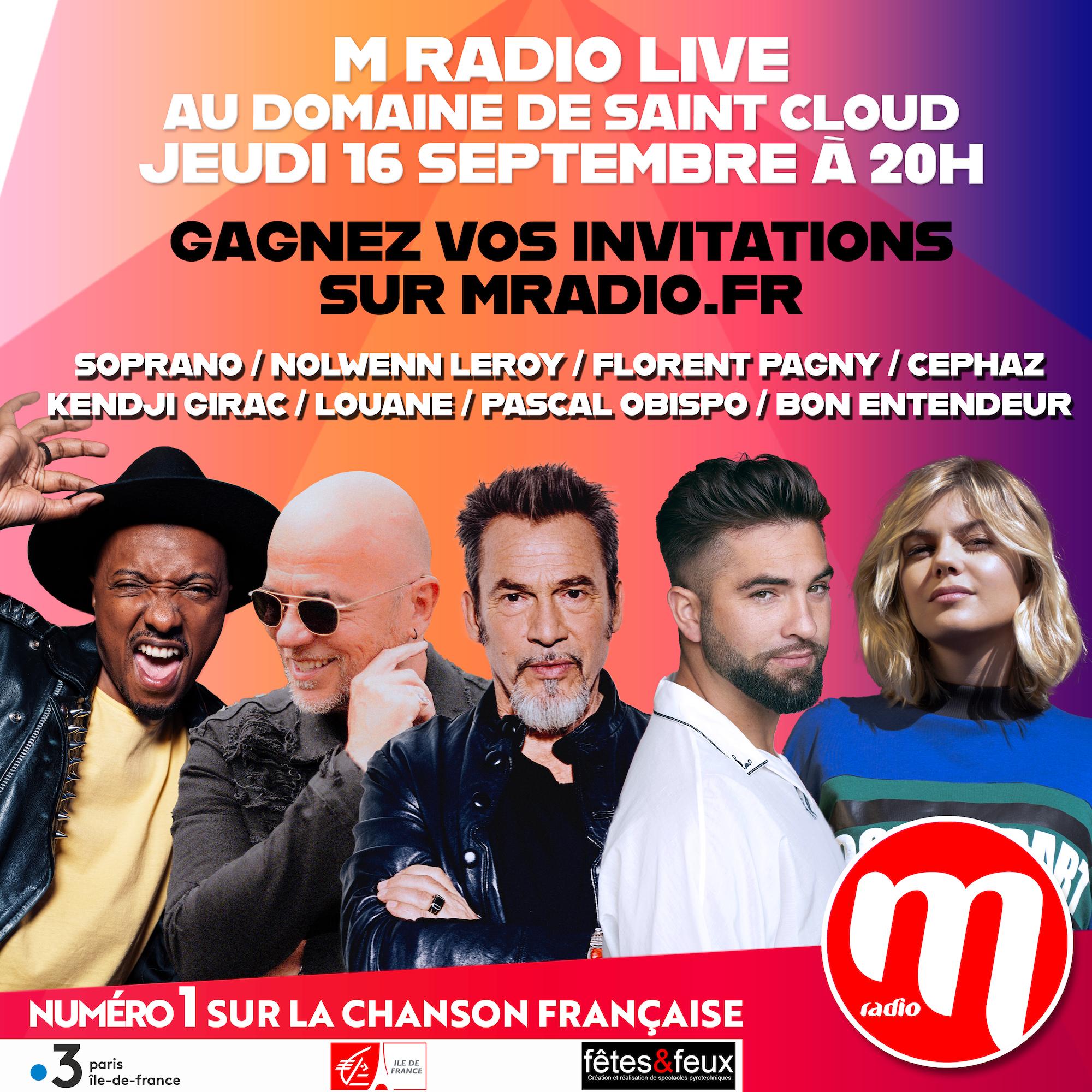M Radio prépare un grand concert