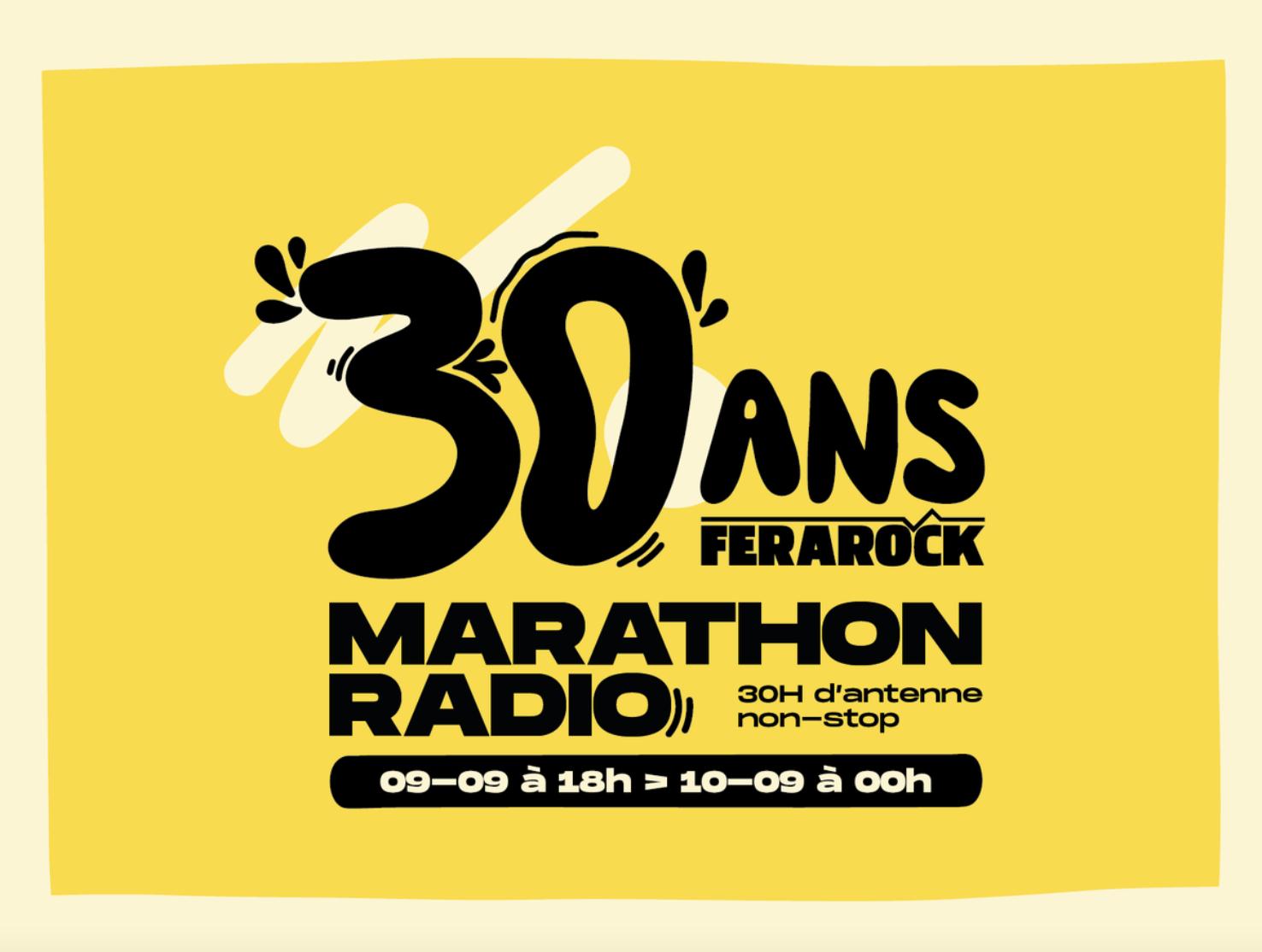 30 heures d'antenne pour les 30 ans pour la Ferarock