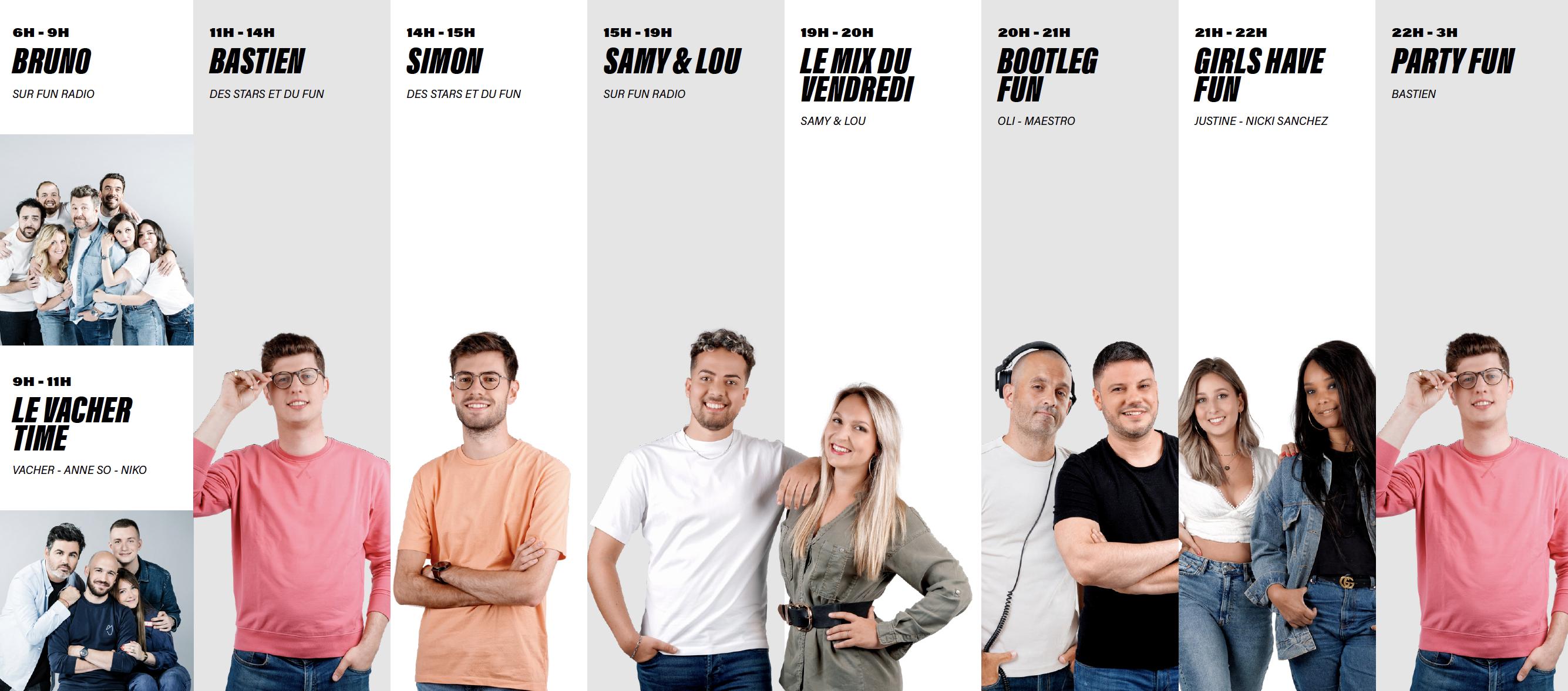 Fun Radio a aussi fait sa rentrée en Belgique