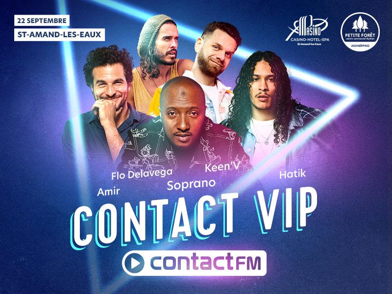 Contact FM va enflammer Saint-Amand-les-Eaux