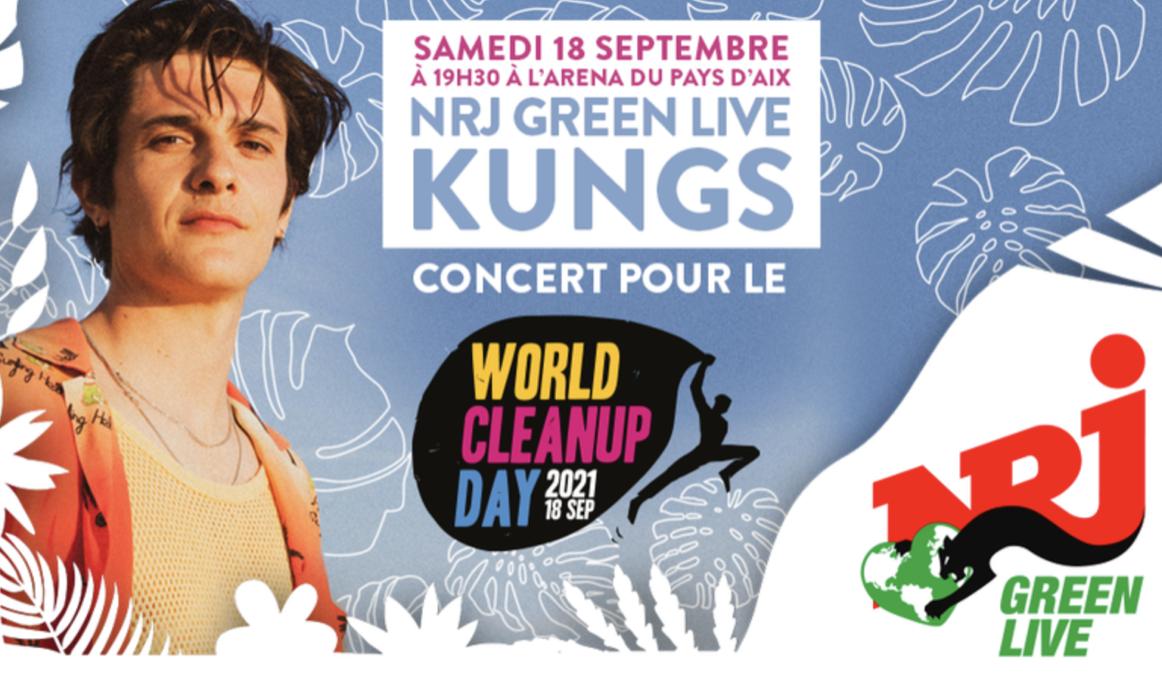 """NRJ organise son premier """"NRJ Green Live"""" en Europe"""