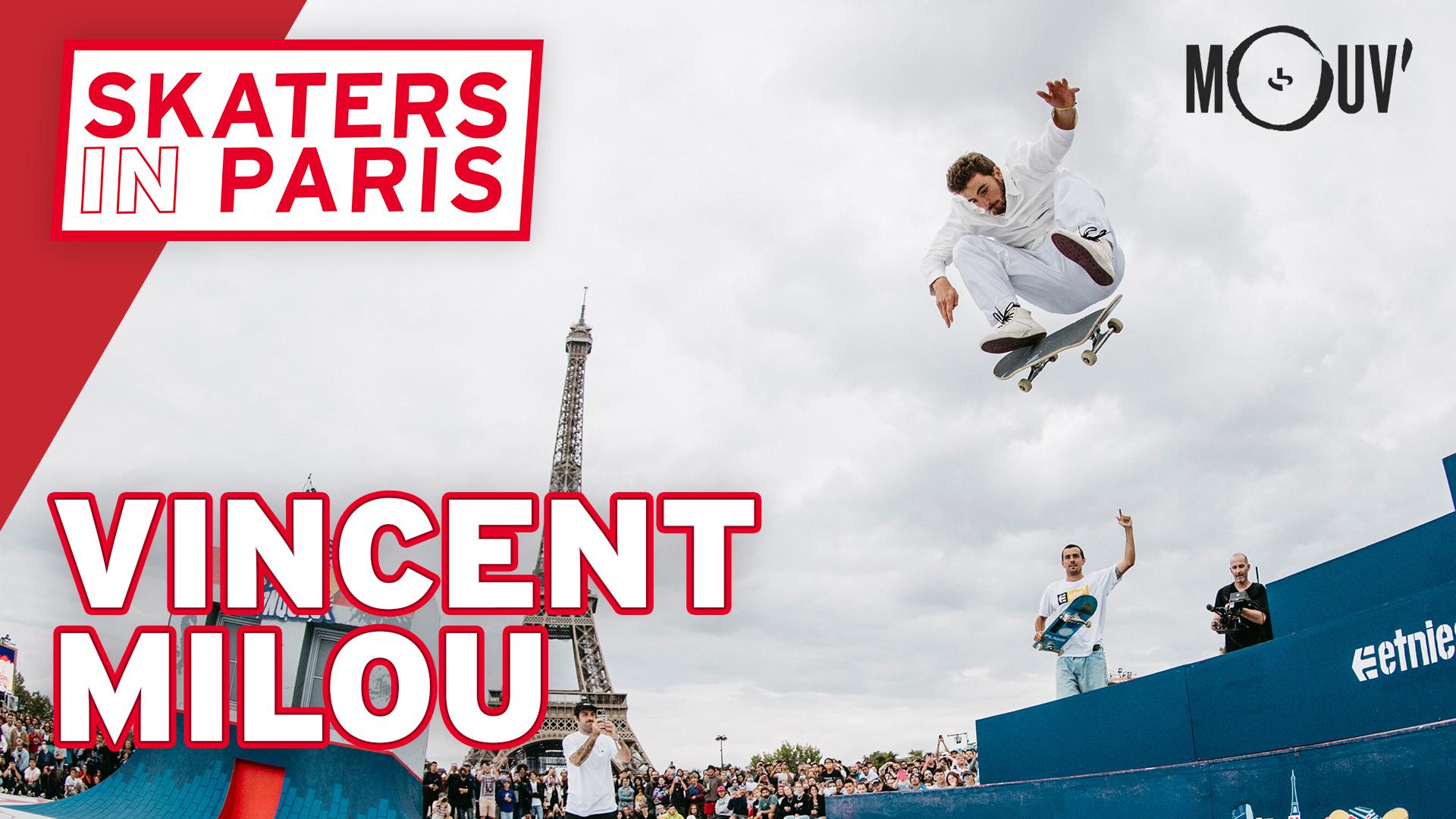 """Mouv' : une nouvelle série vidéo, """"Skaters In Paris"""""""