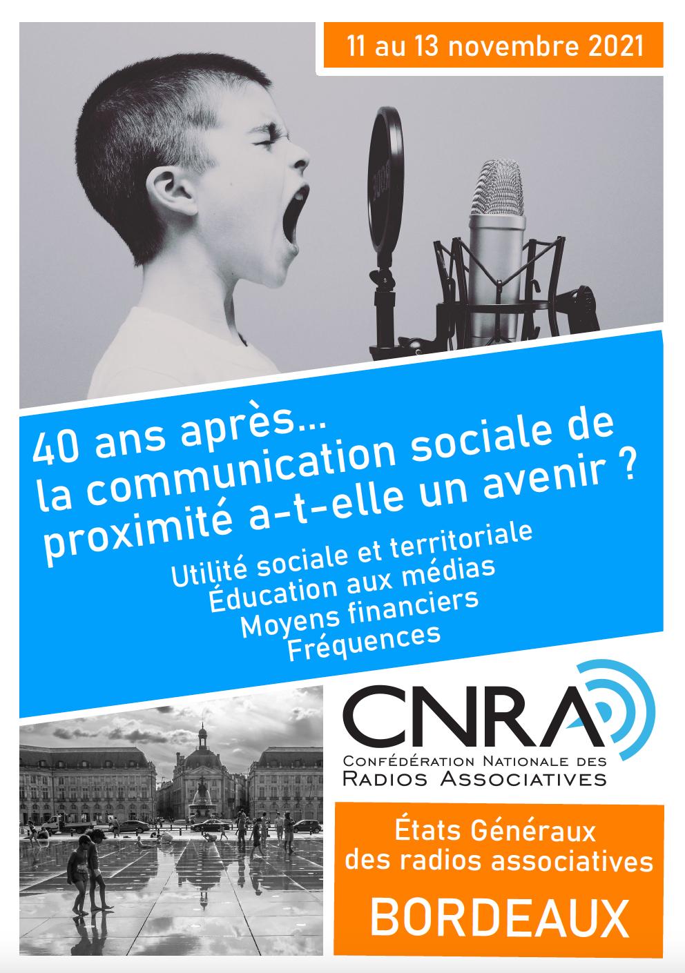 La CNRA prépare les États généraux des radios associatives
