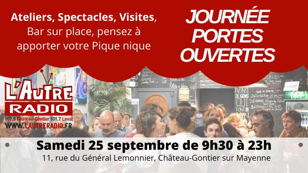 L'Autre Radio inaugure ses studios à Château-Gontier