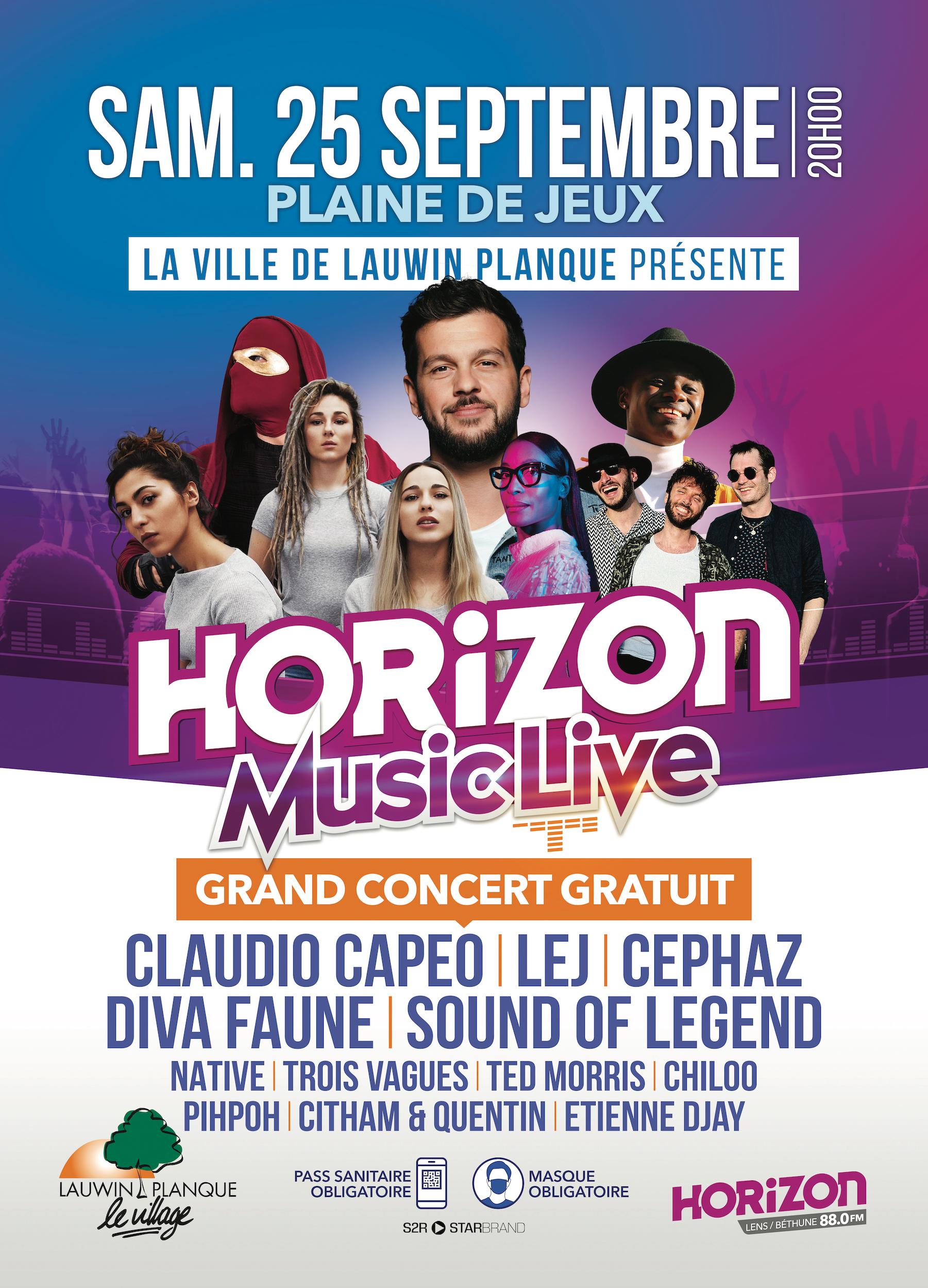 """Le """"Horizon Music Live"""" fait son grand retour"""