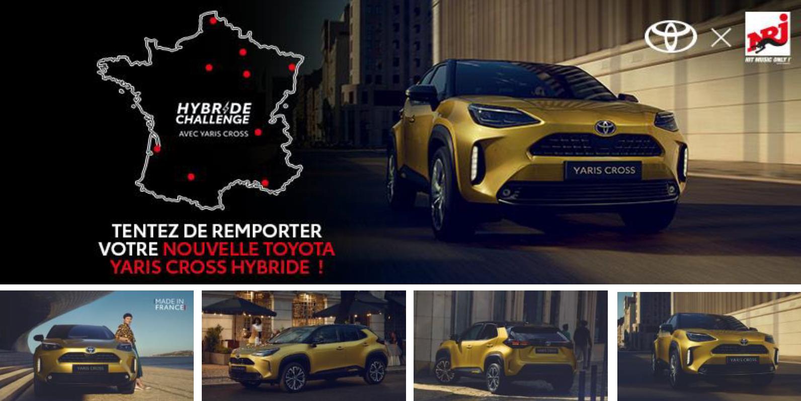 Toyota et NRJ Global roulent ensemble