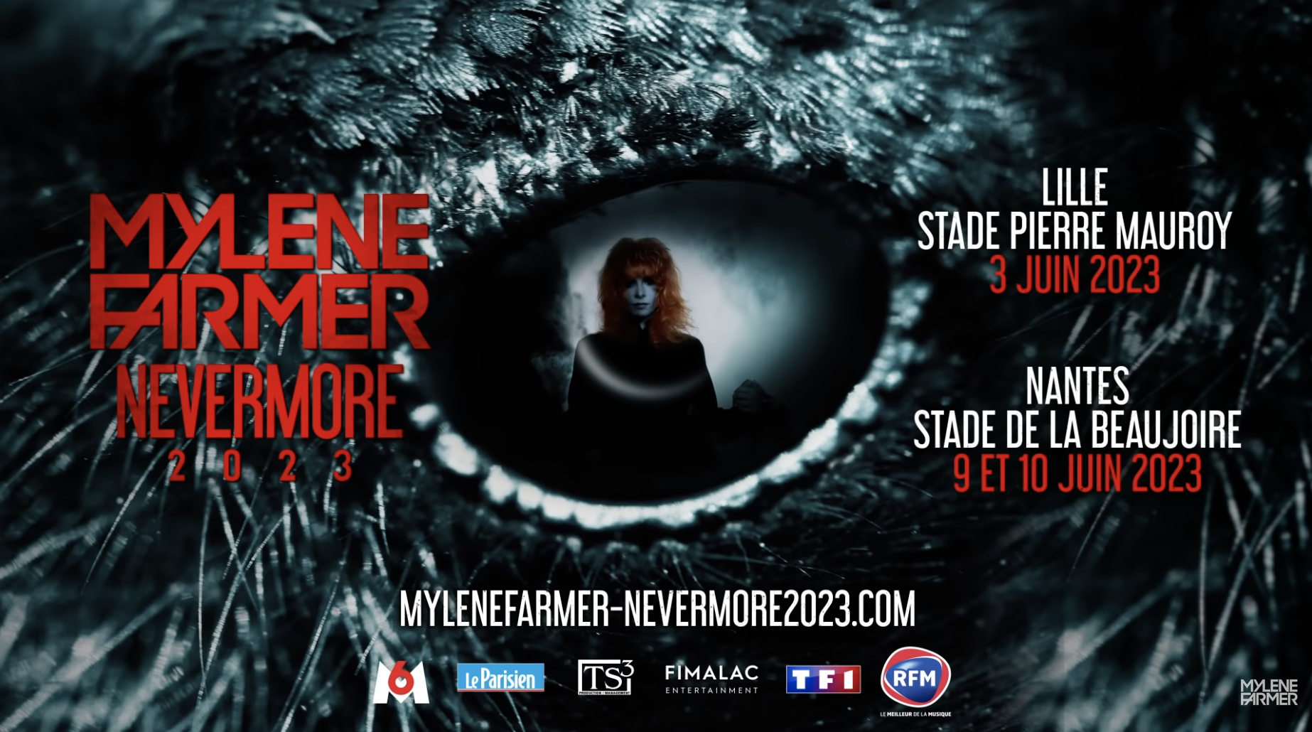 RFM : partenaire radio exclusif de la tournée de Mylène Farmer