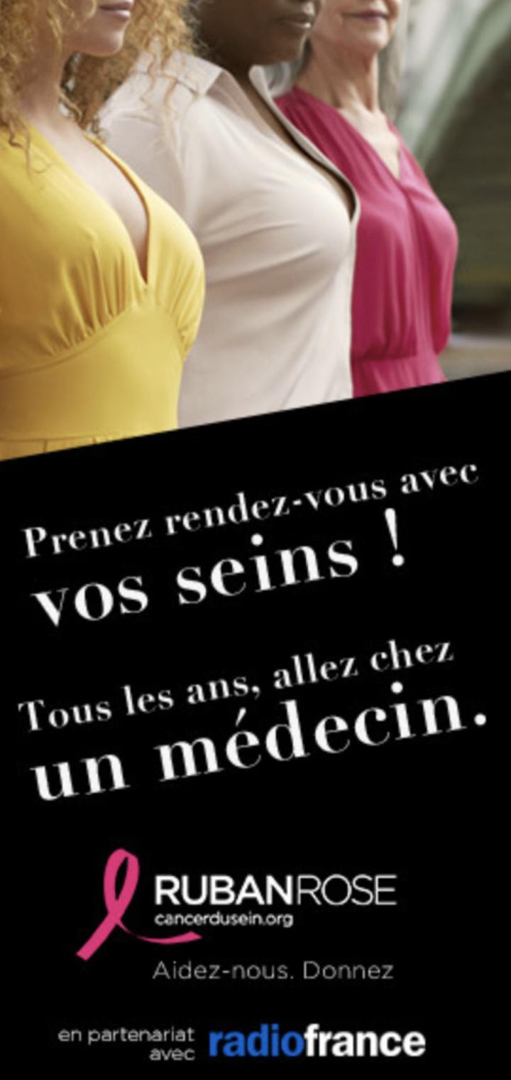 Radio France soutient la 28e campagne Octobre Rose