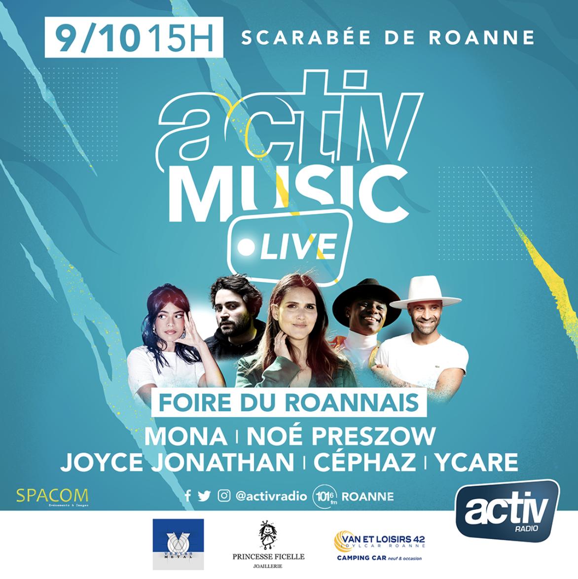 """Activ Radio prépare un """"Activ Music Live"""" à Roanne"""