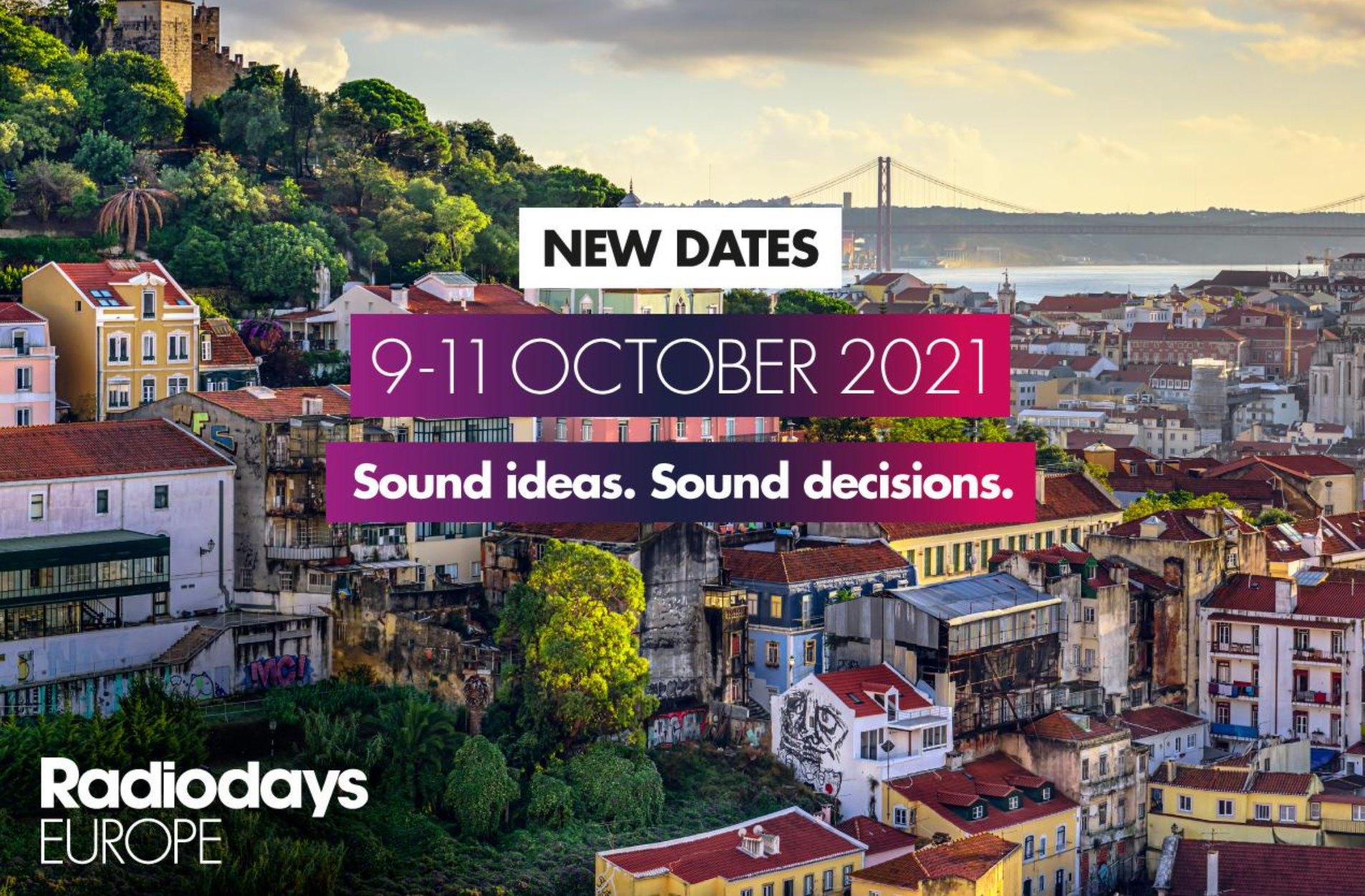 Les Radiodays Europe arrivent à Lisbonne