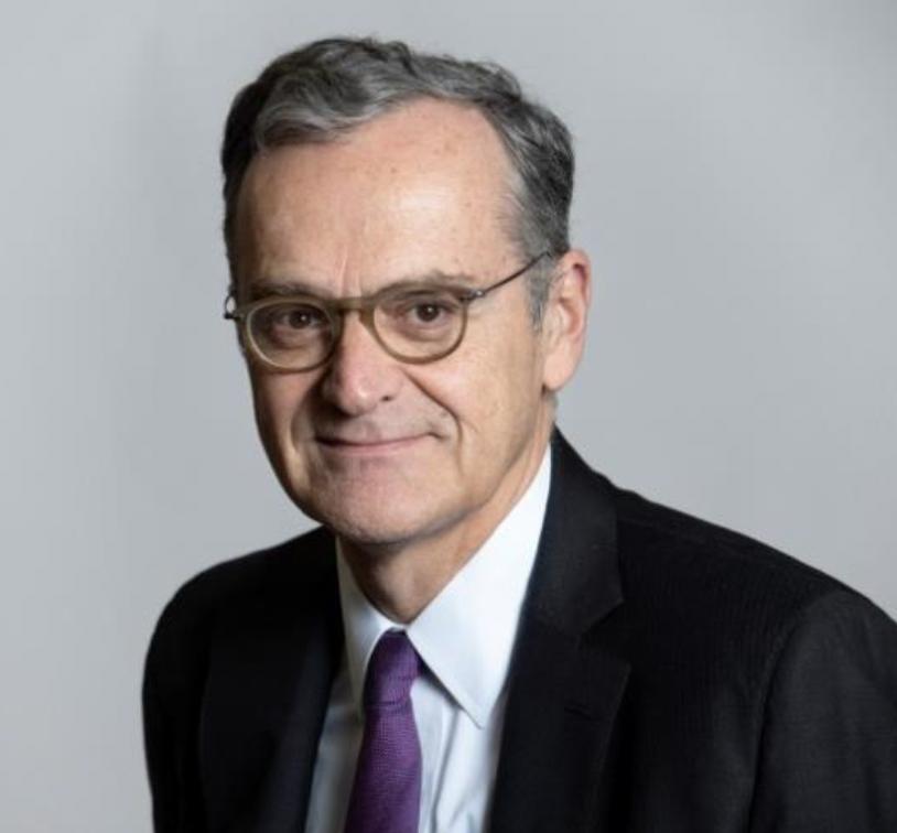 Roch-Olivier Mastre, président du Conseil supérieur de l'audiovisuel © B.Guay