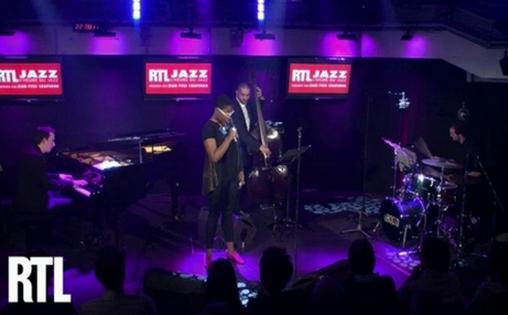 """Cecile Mc Lorin-Salvant dans """"L'heure du Jazz"""" sur RTL le 13 octobre dernier"""