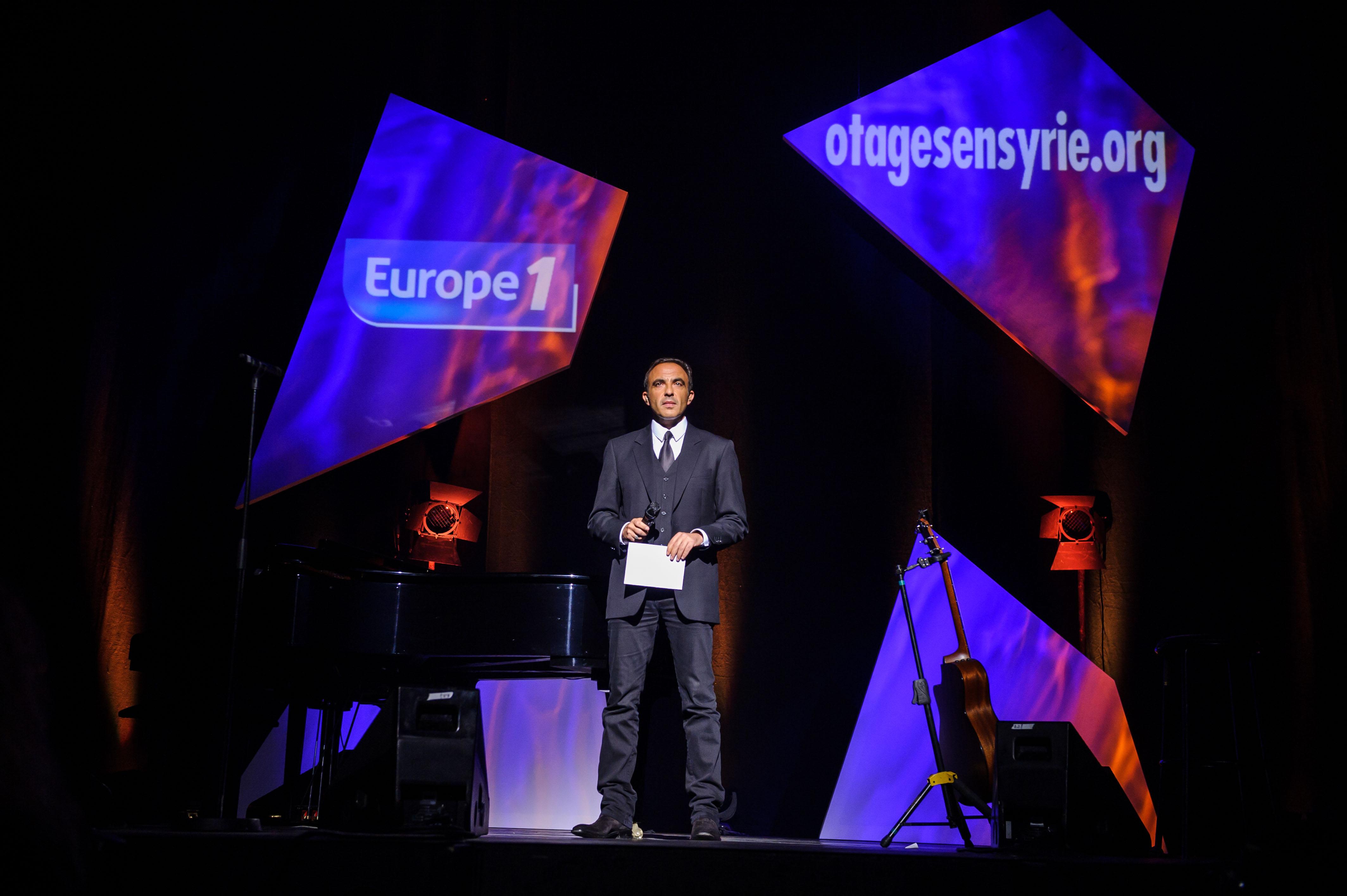 Hier soir sur la scène des Folies Bergère à Paris © Capa Pictures / Europe 1