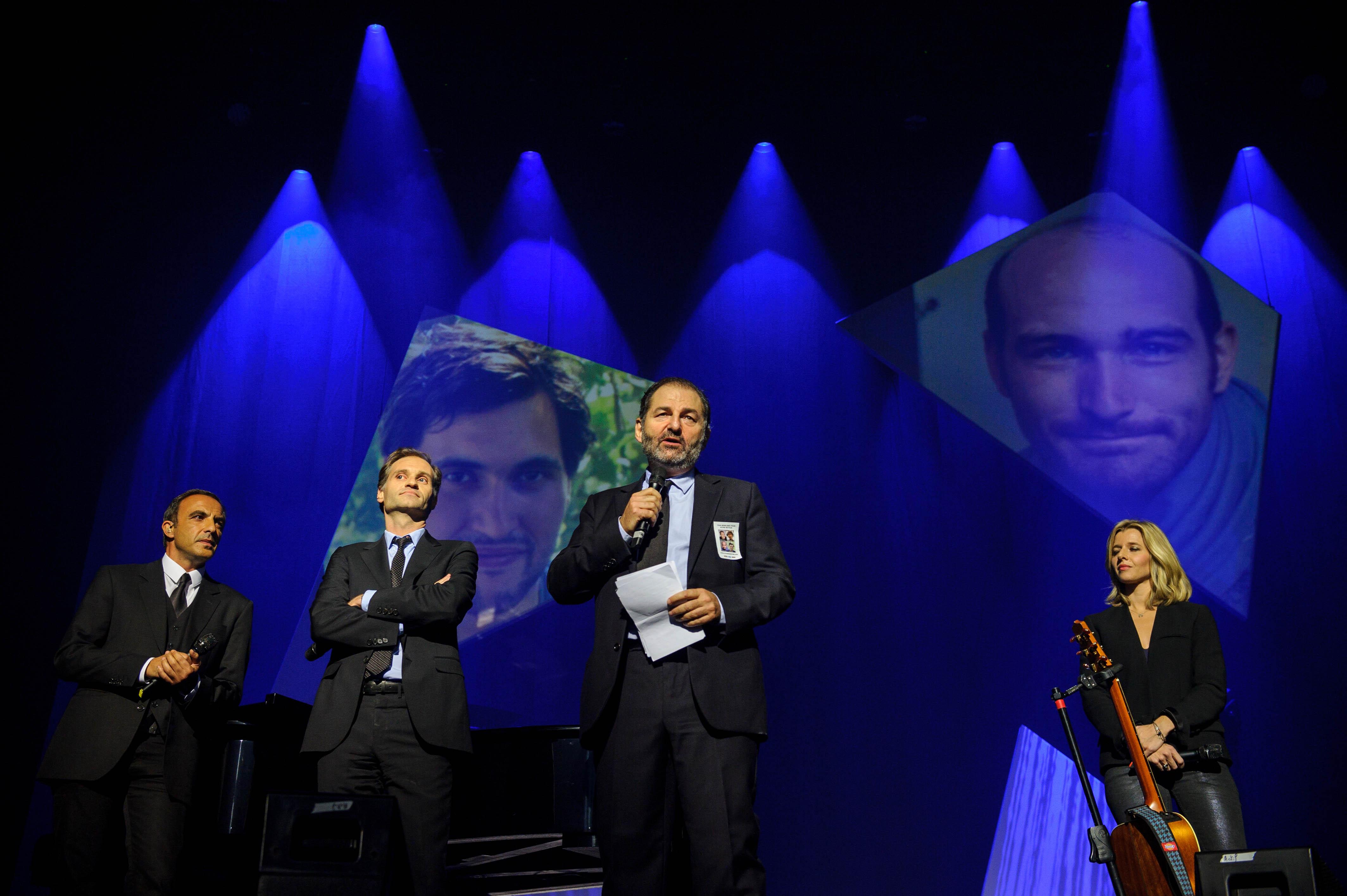 Fabien Namias et Denis Olivennes © Capa Pictures / Europe 1